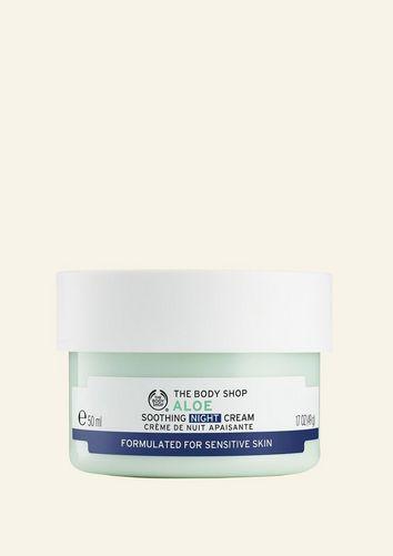 The Body Shop Crème De Nuit Apaisante Aloe Vera 50 ML