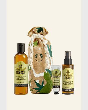 The Body Shop Coffret Clean & Comfort Chanvre 1 Article