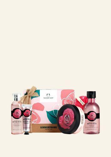The Body Shop Grand Coffret British Rose Éclat 1 Article