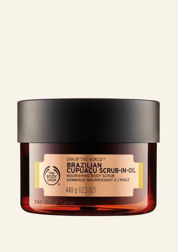 The Body Shop Gommage Nourrissant à L'huile De Cupuaçu Du Brésil Spa Of The Worl™ 440 G