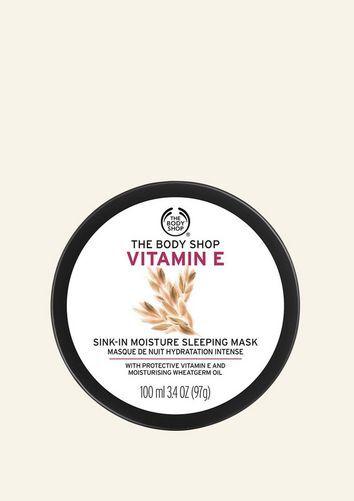 The Body Shop Masque De Nuit Hydratation Intense Vitamine E 100 ML