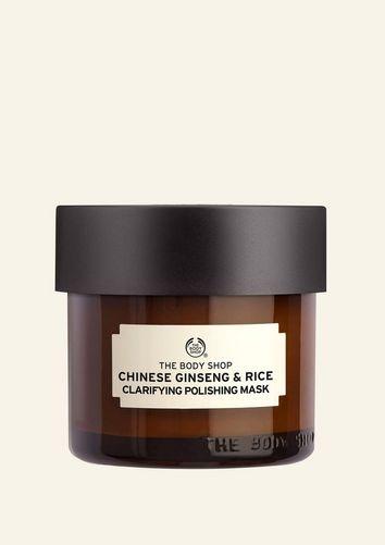 The Body Shop Masque Gommant Illuminateur Au Ginseng Et Riz Chinois 75 ML