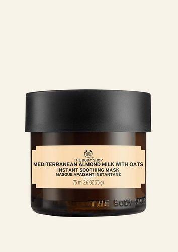 The Body Shop Masque Apaisant Instantané Lait D'amandes Et Avoine 75 ML