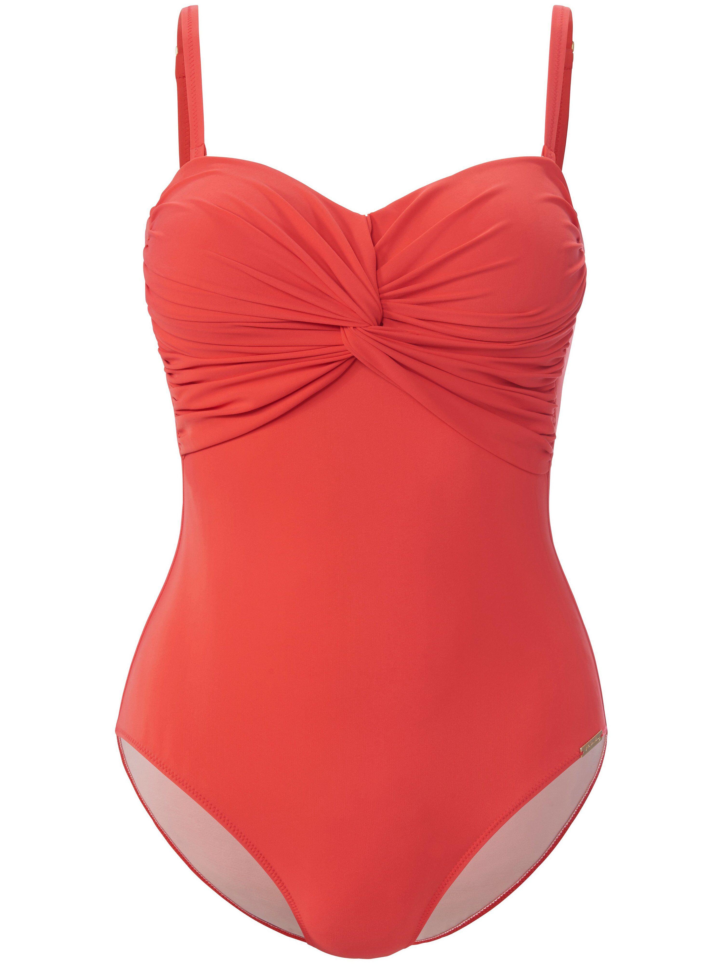 Fürstenberg Le maillot bain forme bandeau  Fürstenberg rouge  - Femme - 44