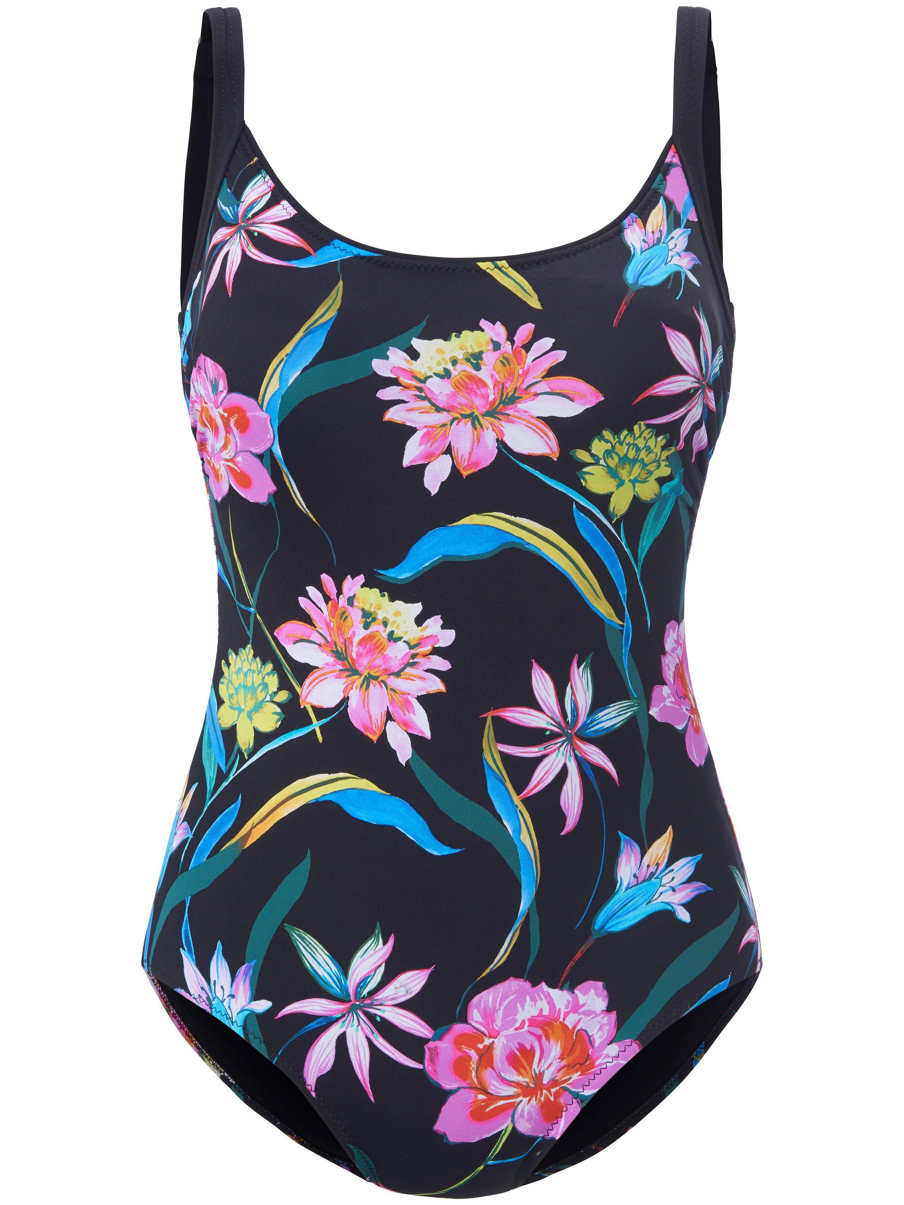 Grimaldimare Le maillot bain à imprimé fleuri  Grimaldimare noir  - Femme - 48