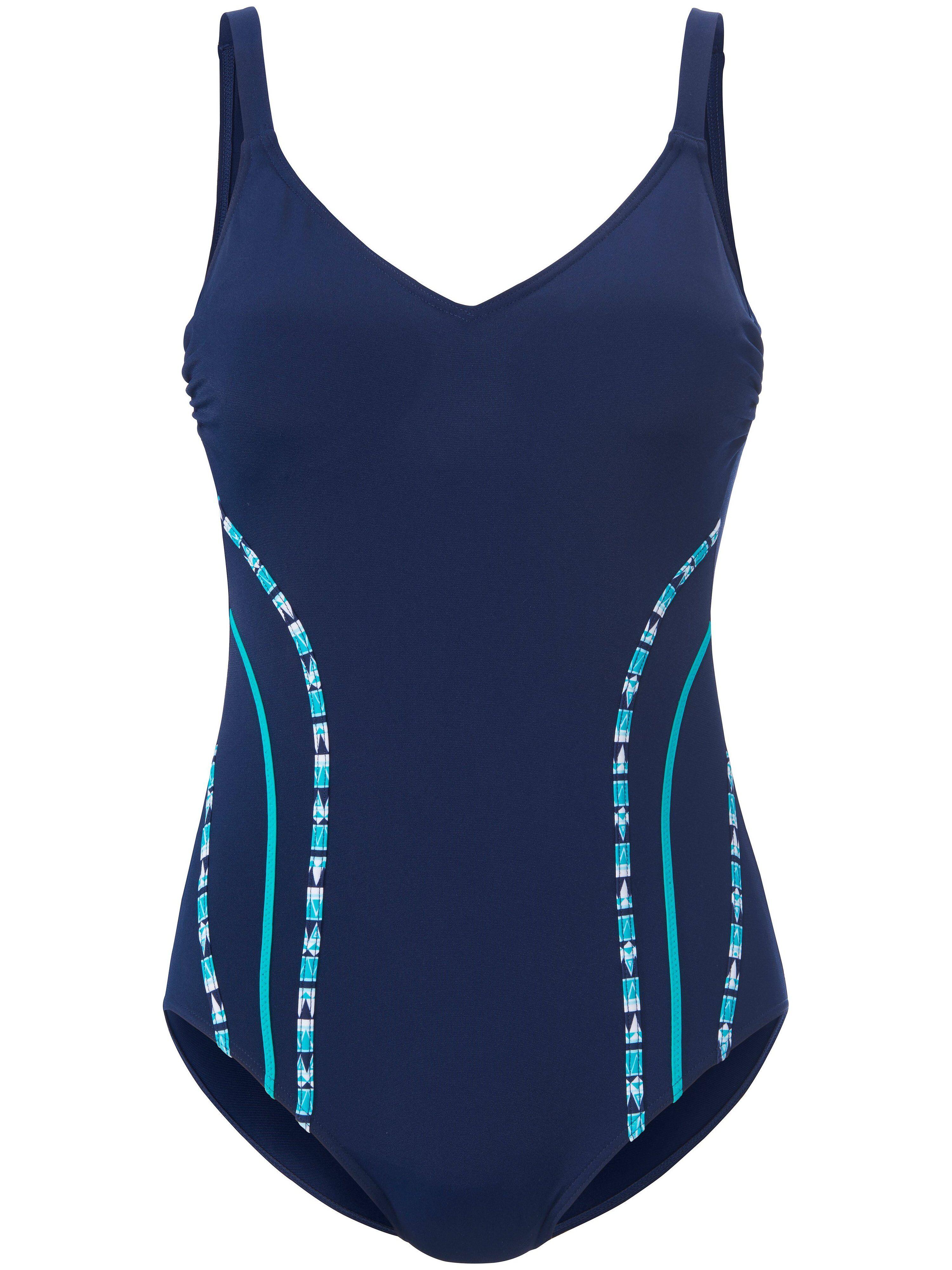 Sunmarin Le maillot bain avec buste doublé  Sunmarin bleu  - Femme - 40