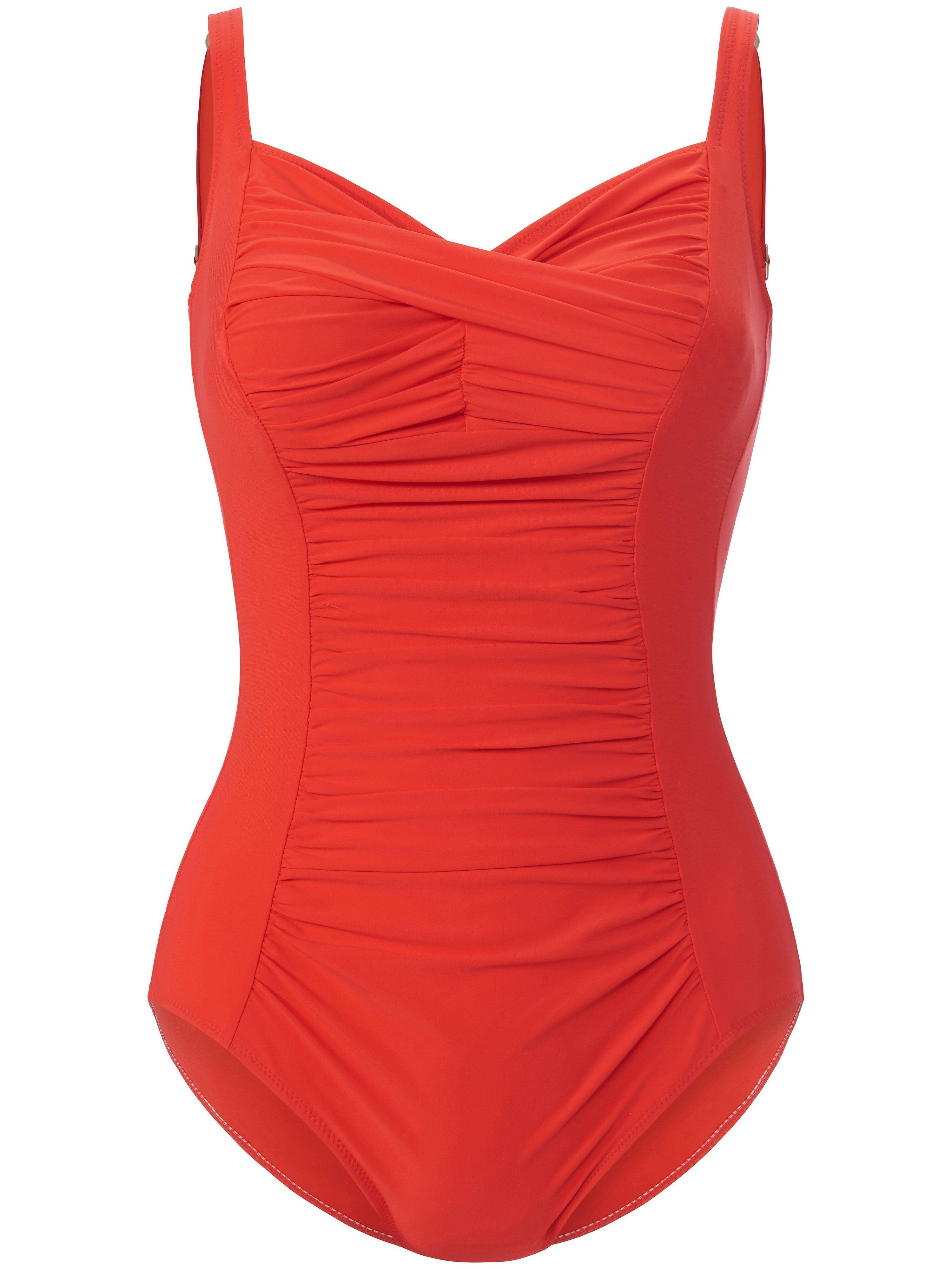 Anita Le maillot bain décolleté V  Anita rouge  - Femme - 46