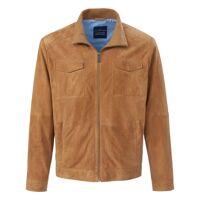Louis Sayn La veste en cuir velours chèvre  Louis Sayn beige  - Homme - 54 <br /><b>470.00 EUR</b> peterhahn.fr