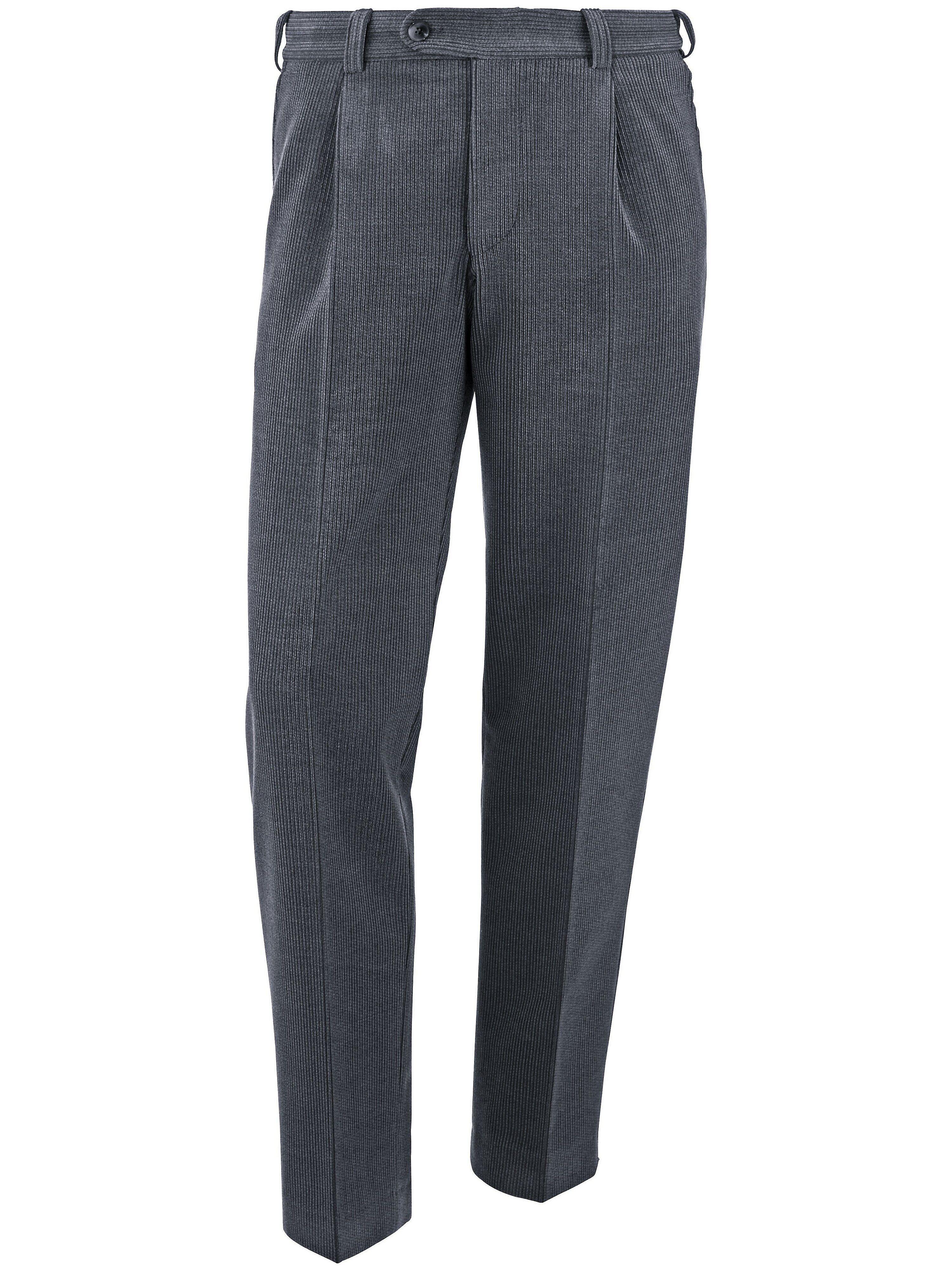 Brax Le pantalon à pinces modèle Luis  Eurex by Brax gris  - Homme - 25