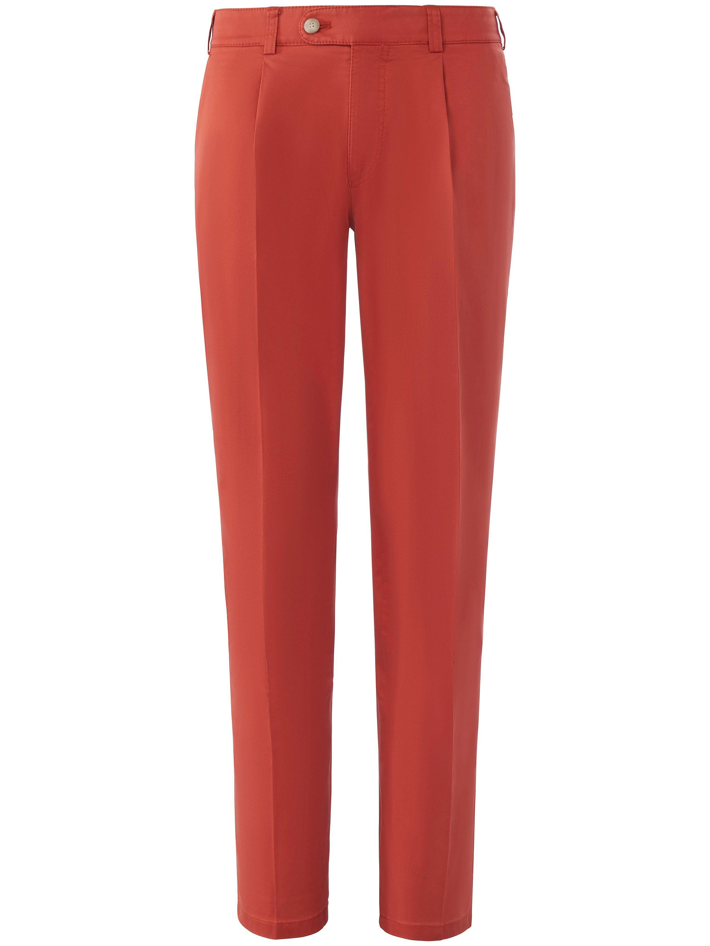 Brax Le pantalon à pinces modèle Luis  Eurex by Brax rouge  - Homme - 25