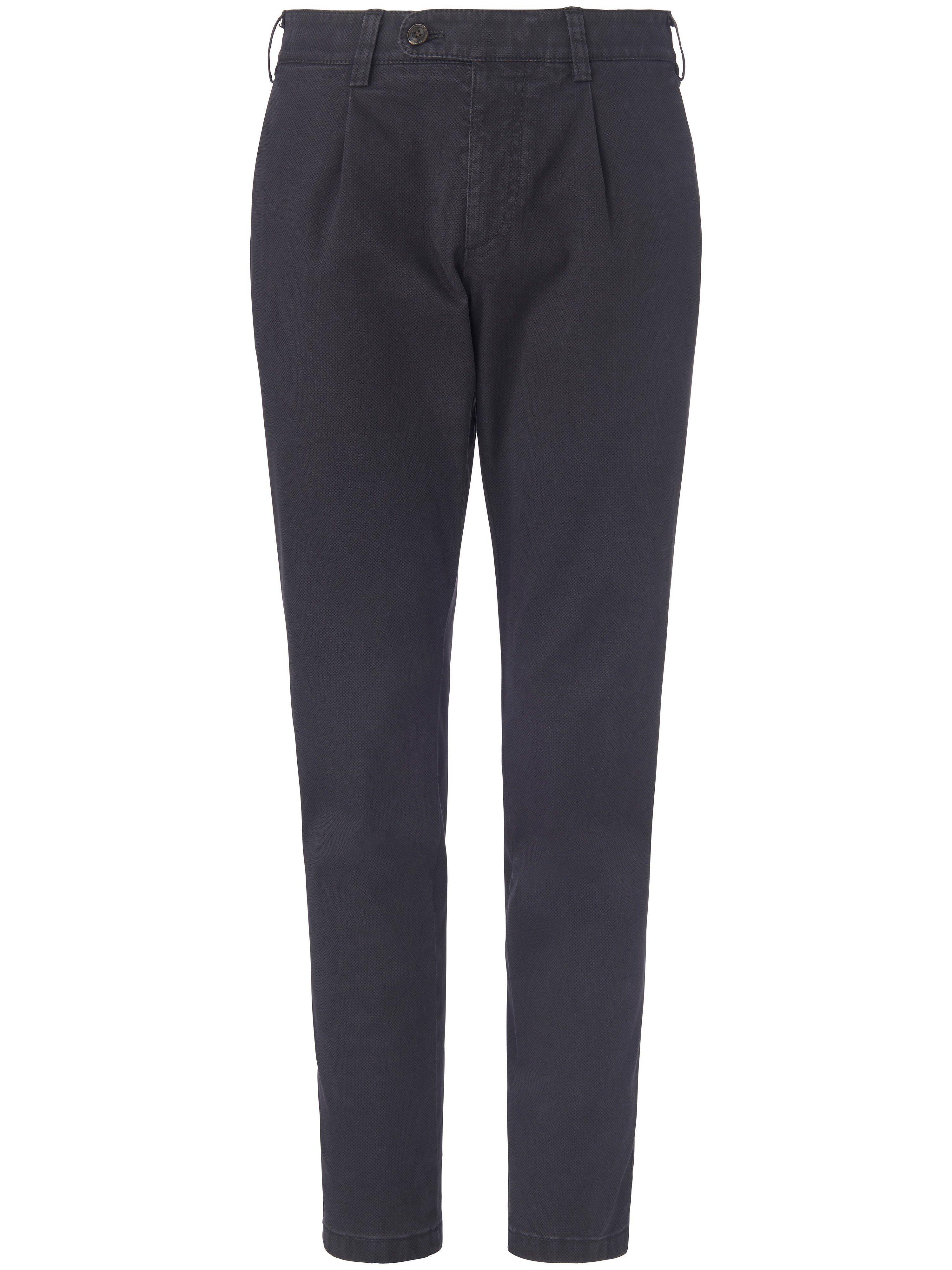Brax Le pantalon à pinces modèle Luis  Eurex by Brax gris  - Homme - 26