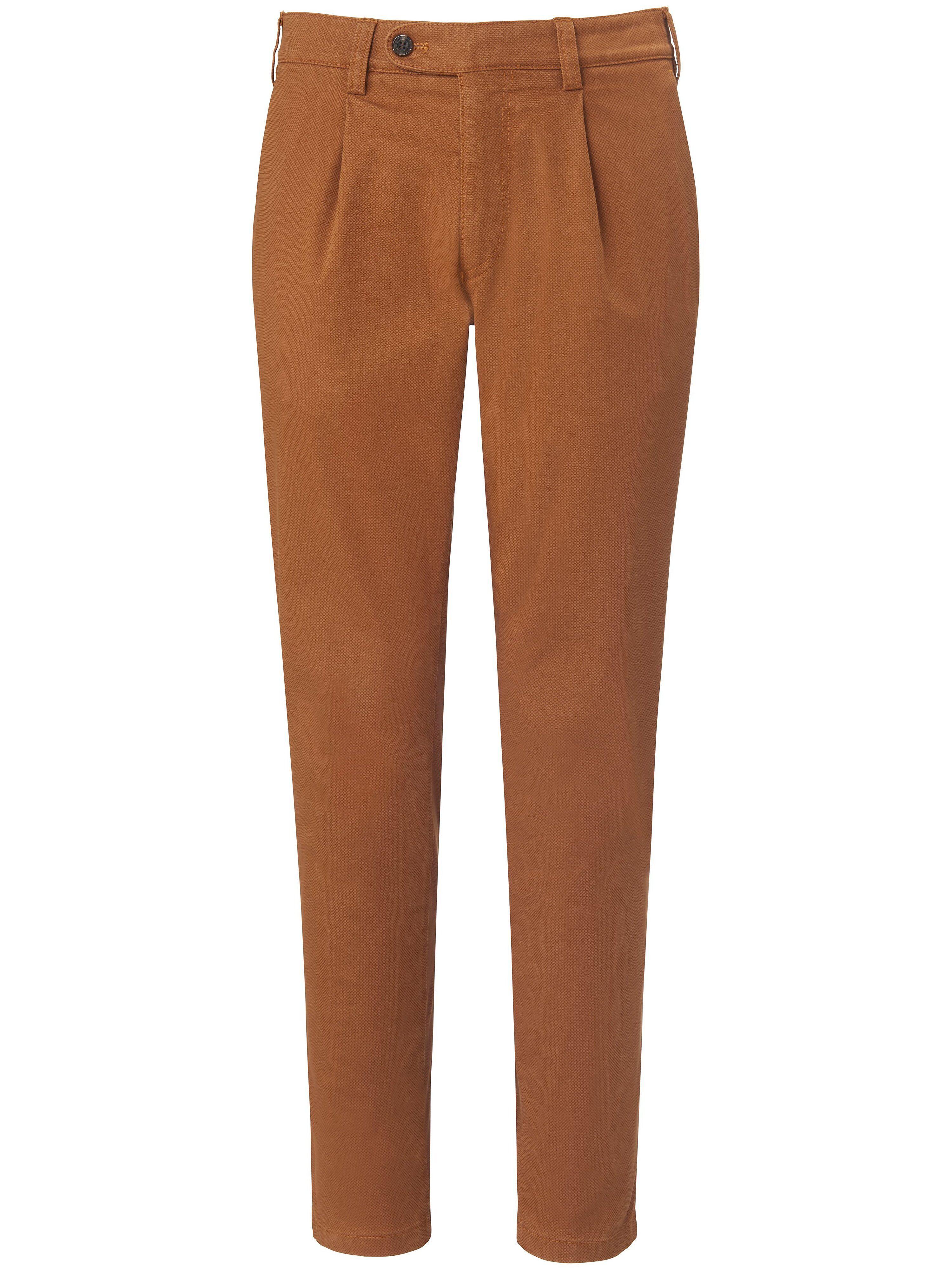 Brax Le pantalon à pinces modèle Luis  Eurex by Brax orange  - Homme - 25