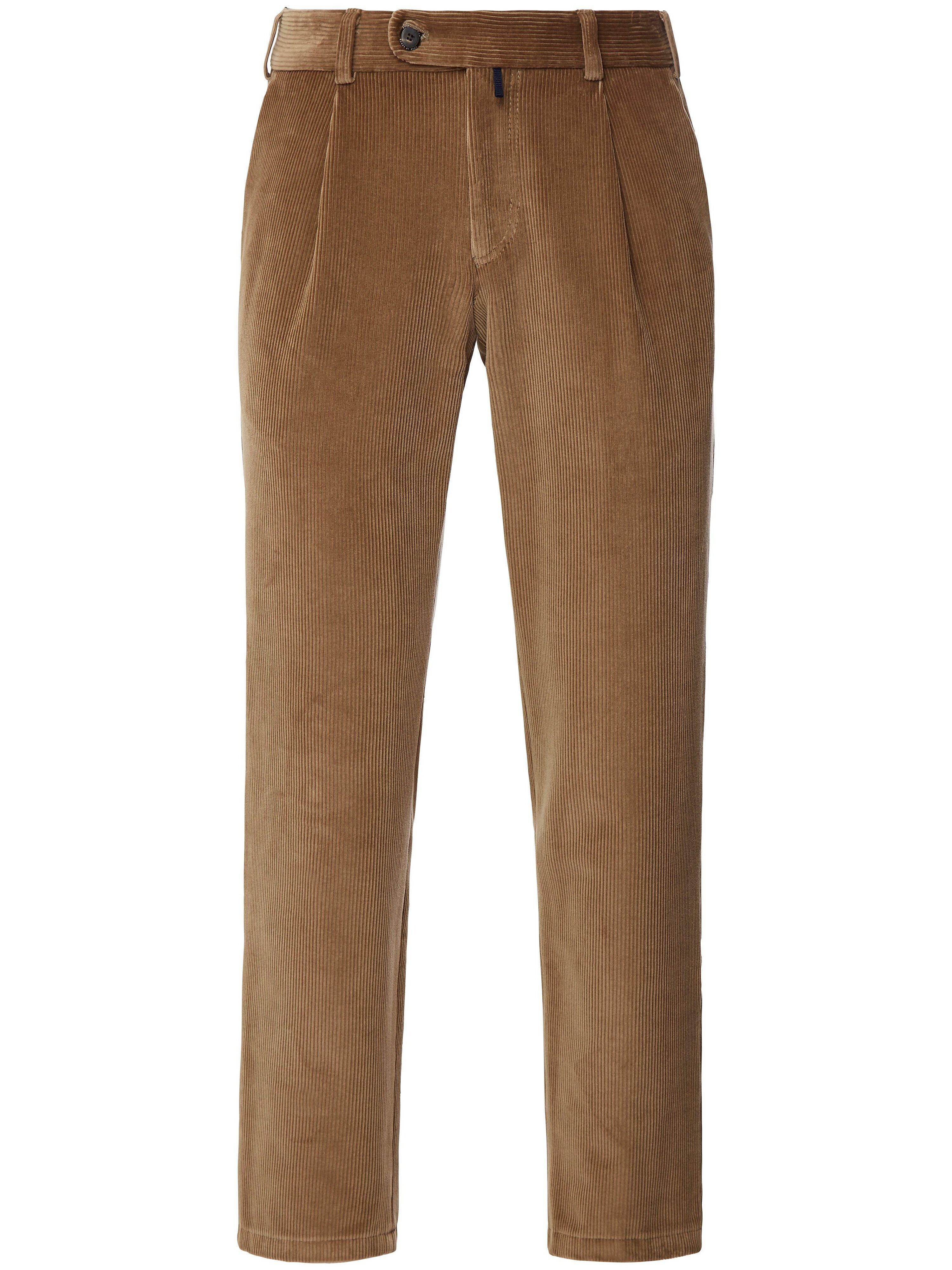Brax Le pantalon à pinces modèle Luis  Eurex by Brax beige  - Homme - 25