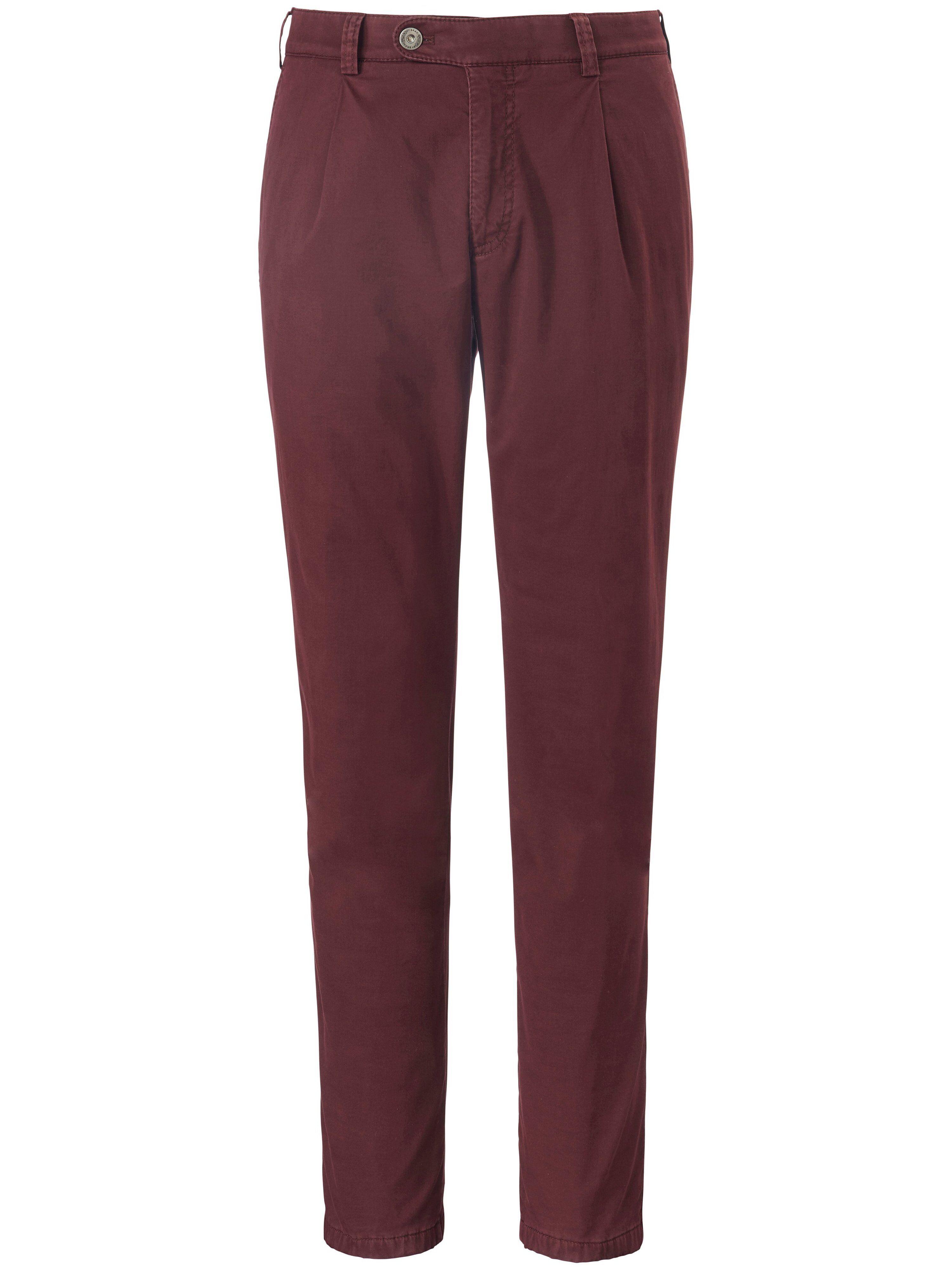 Brax La pantalon chaud à pinces modèle Luis  Eurex by Brax rouge  - Homme - 25