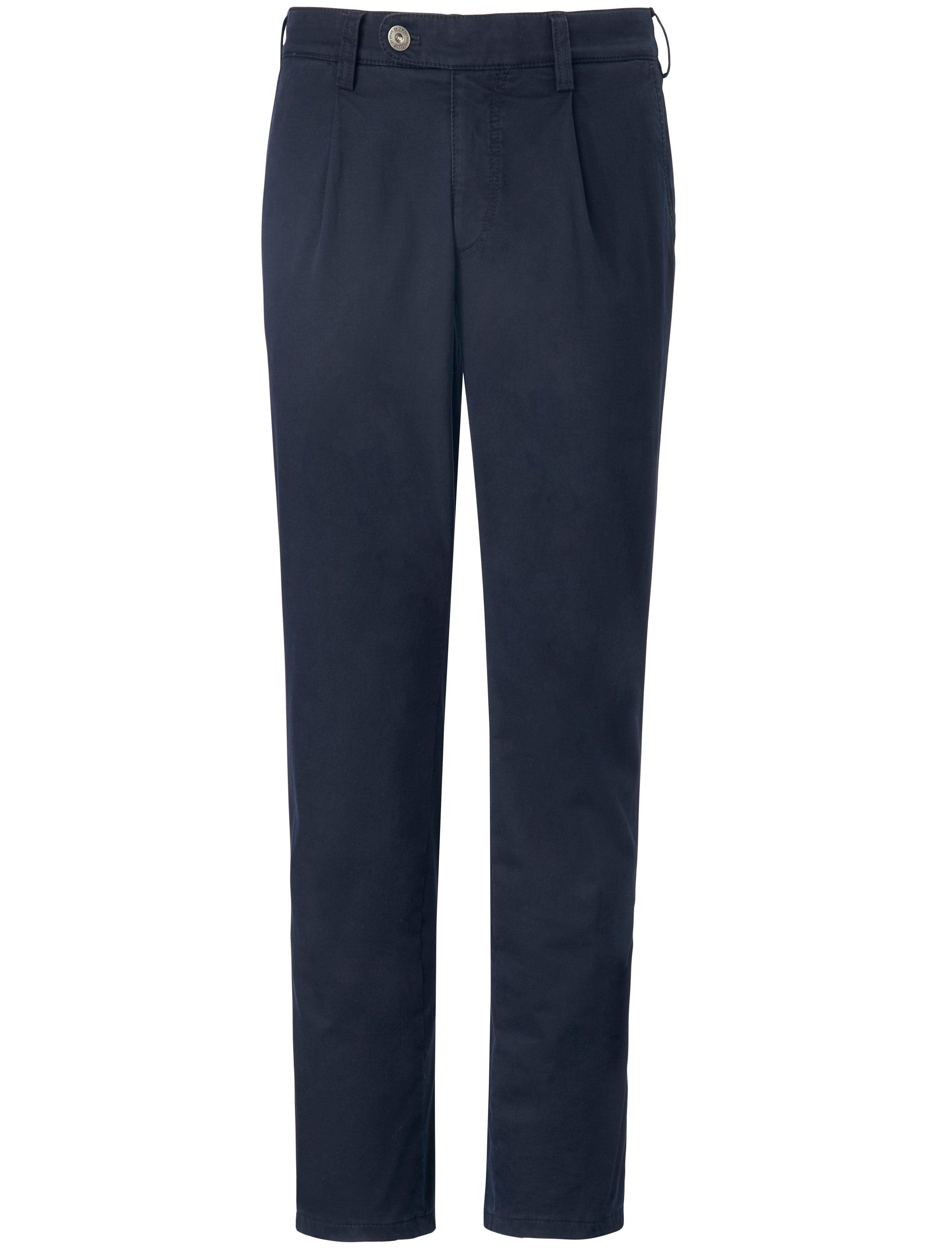 Brax La pantalon chaud à pinces modèle Luis  Eurex by Brax bleu  - Homme - 25