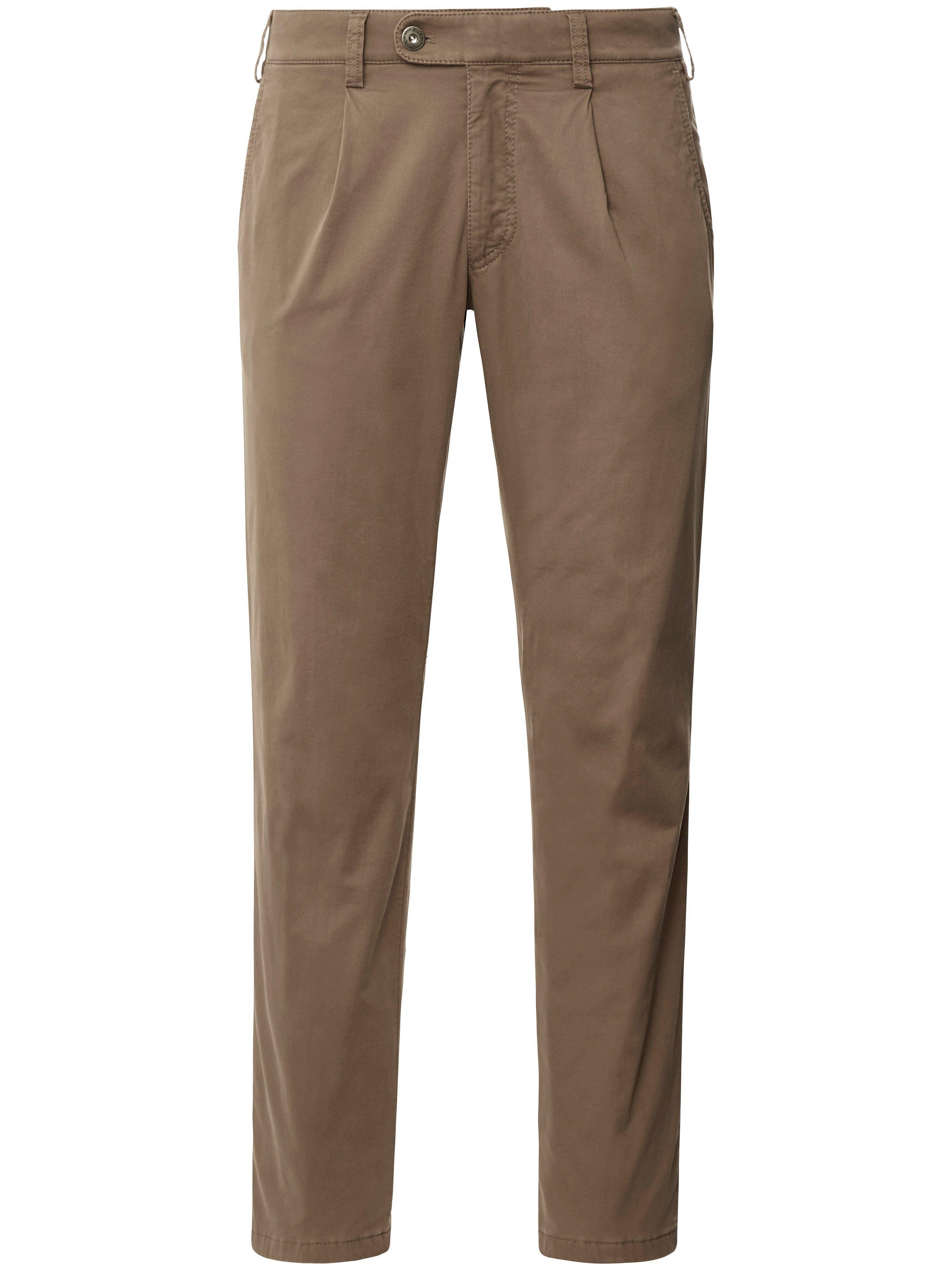 Brax La pantalon chaud à pinces modèle Luis  Eurex by Brax beige  - Homme - 25