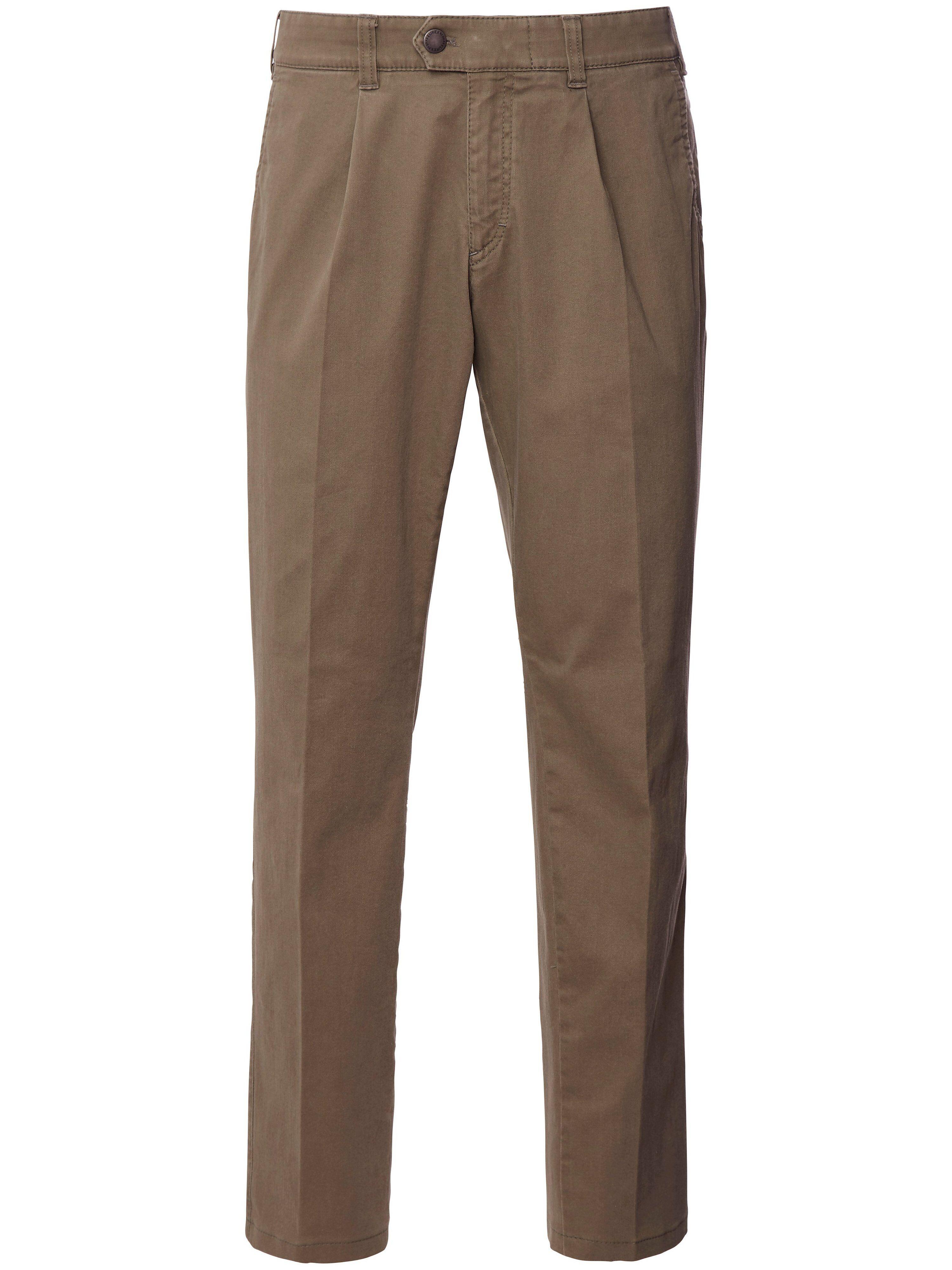 Brax Le pantalon à pinces  Eurex by Brax marron  - Homme - 25