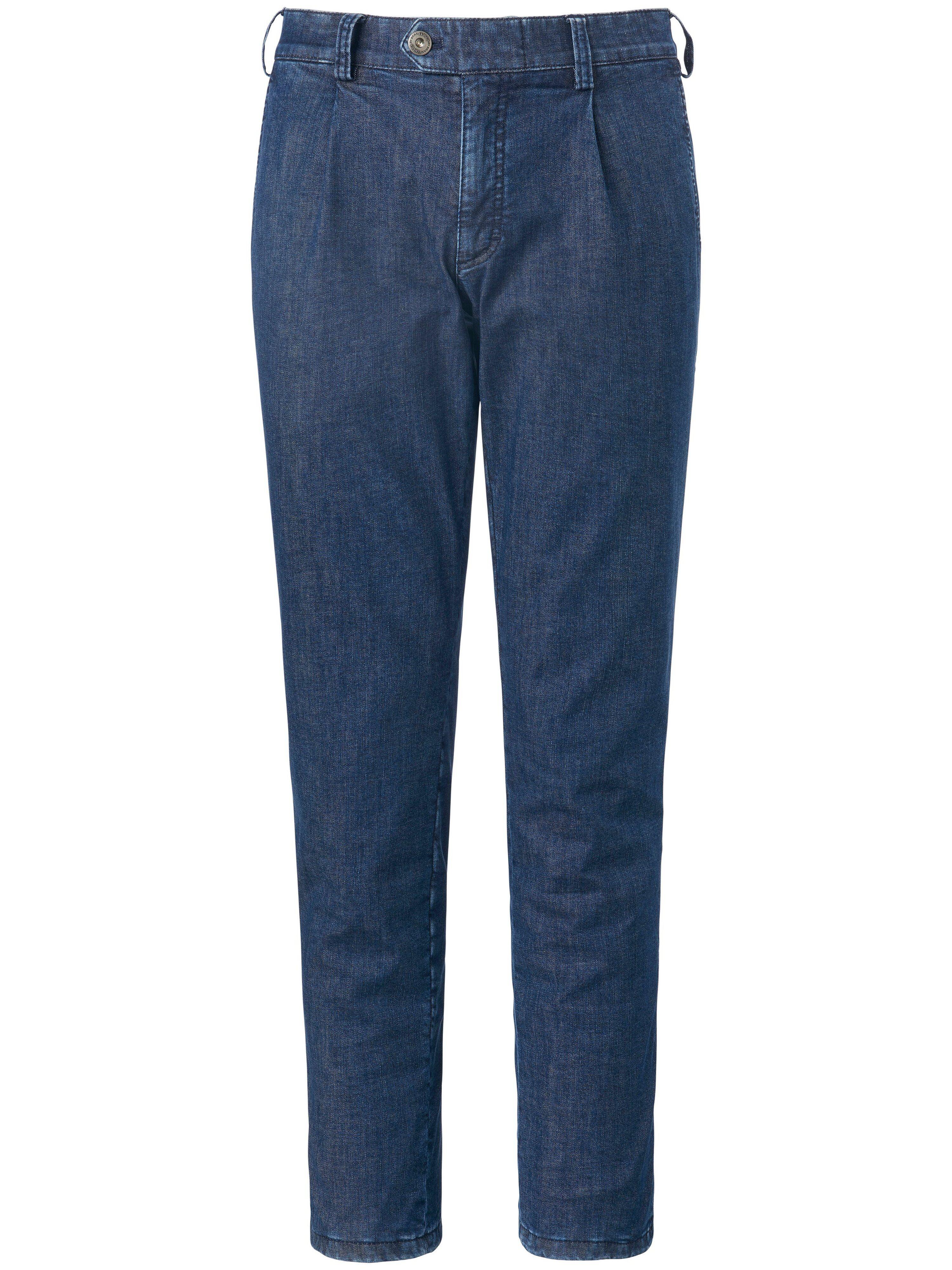 Brax Le pantalon chaud à pinces modèle Mike  Eurex by Brax denim  - Homme - 25