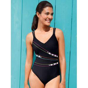 Sunflair Le maillot bain Xtra Life avec passepoils  Sunflair noir  - Femme - 40 - Publicité