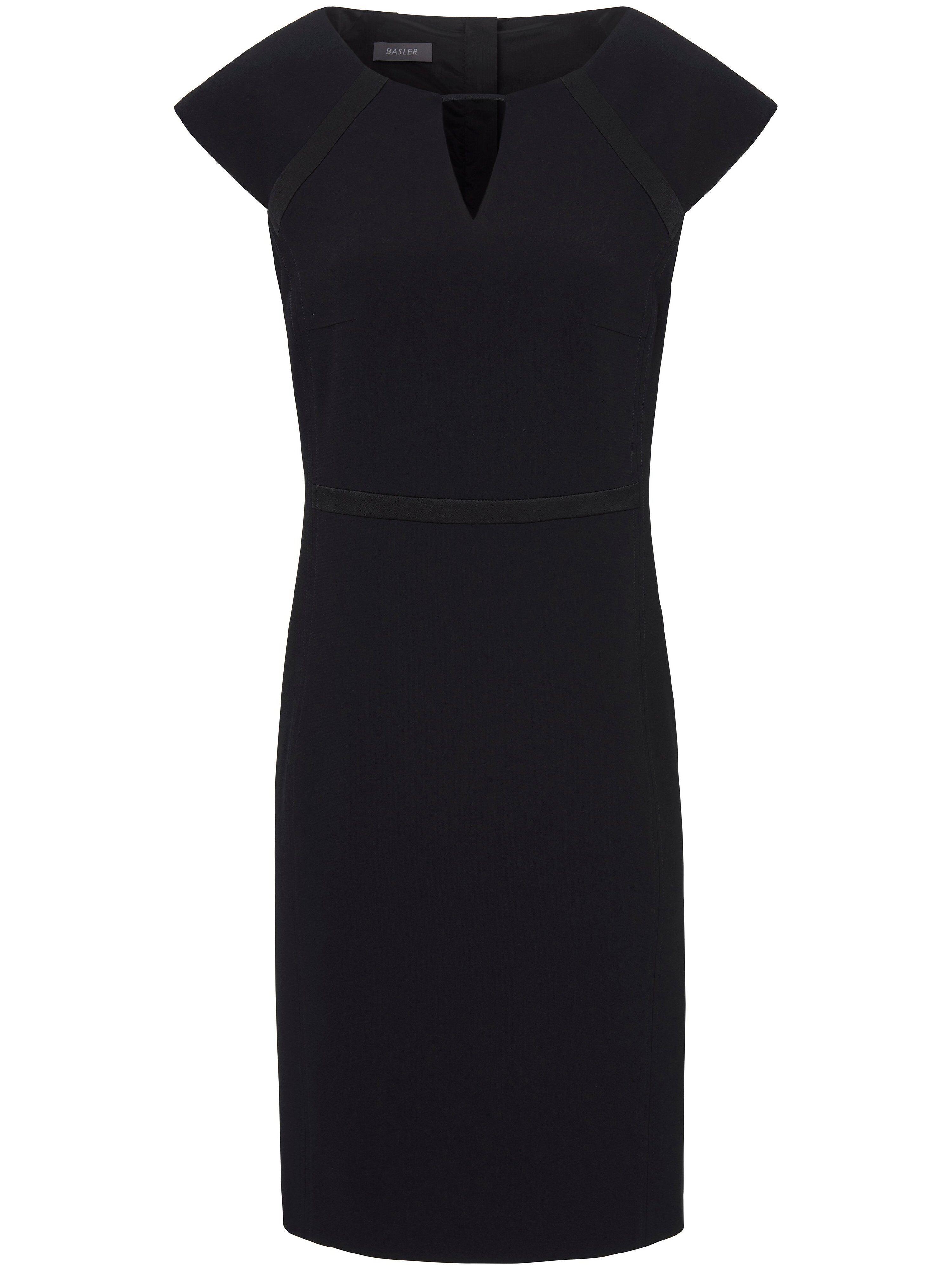 Basler La robe ligne crayon  Basler noir  - Femme - 40