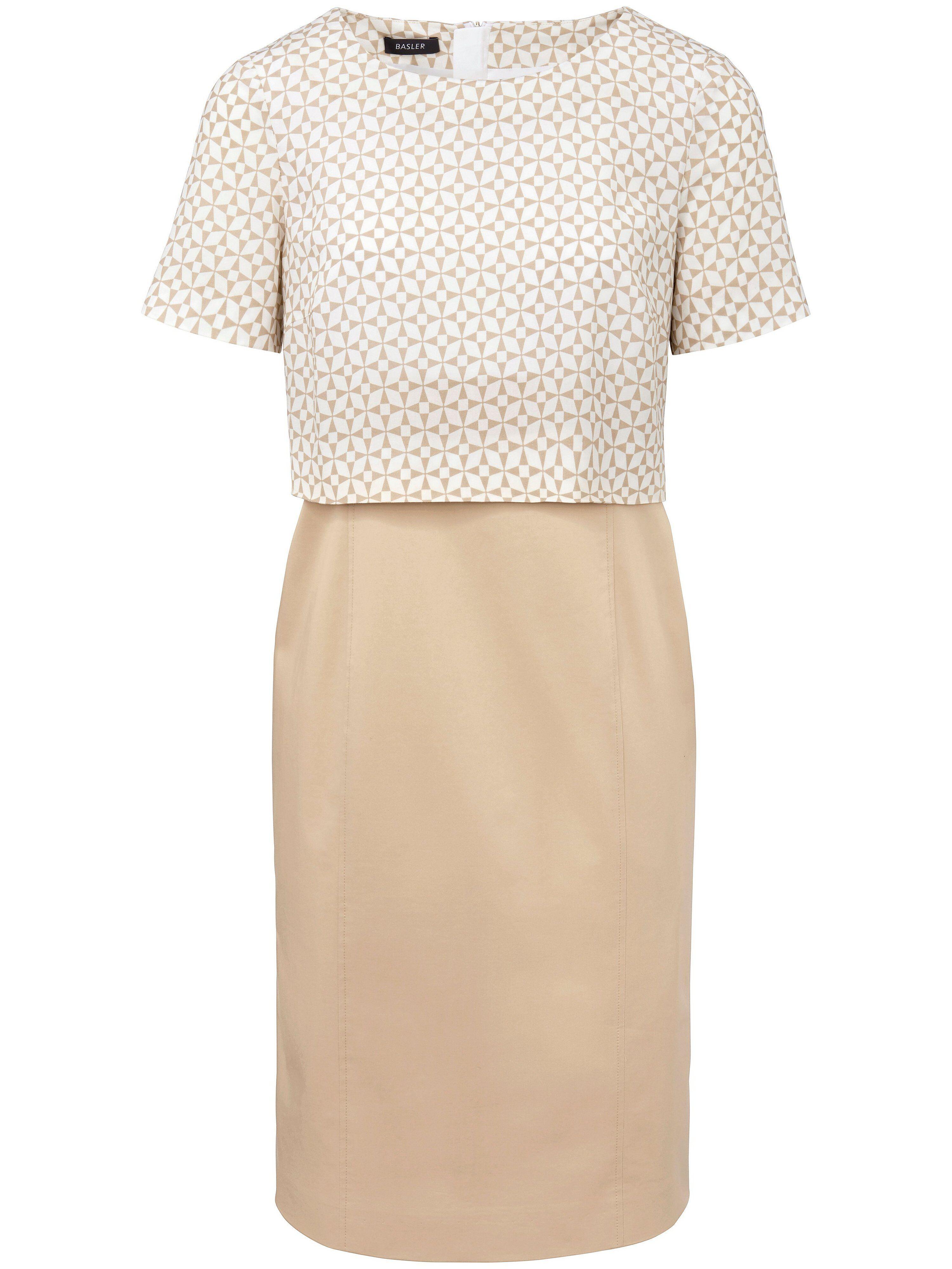 Basler La robe ligne crayon  Basler beige  - Femme - 48