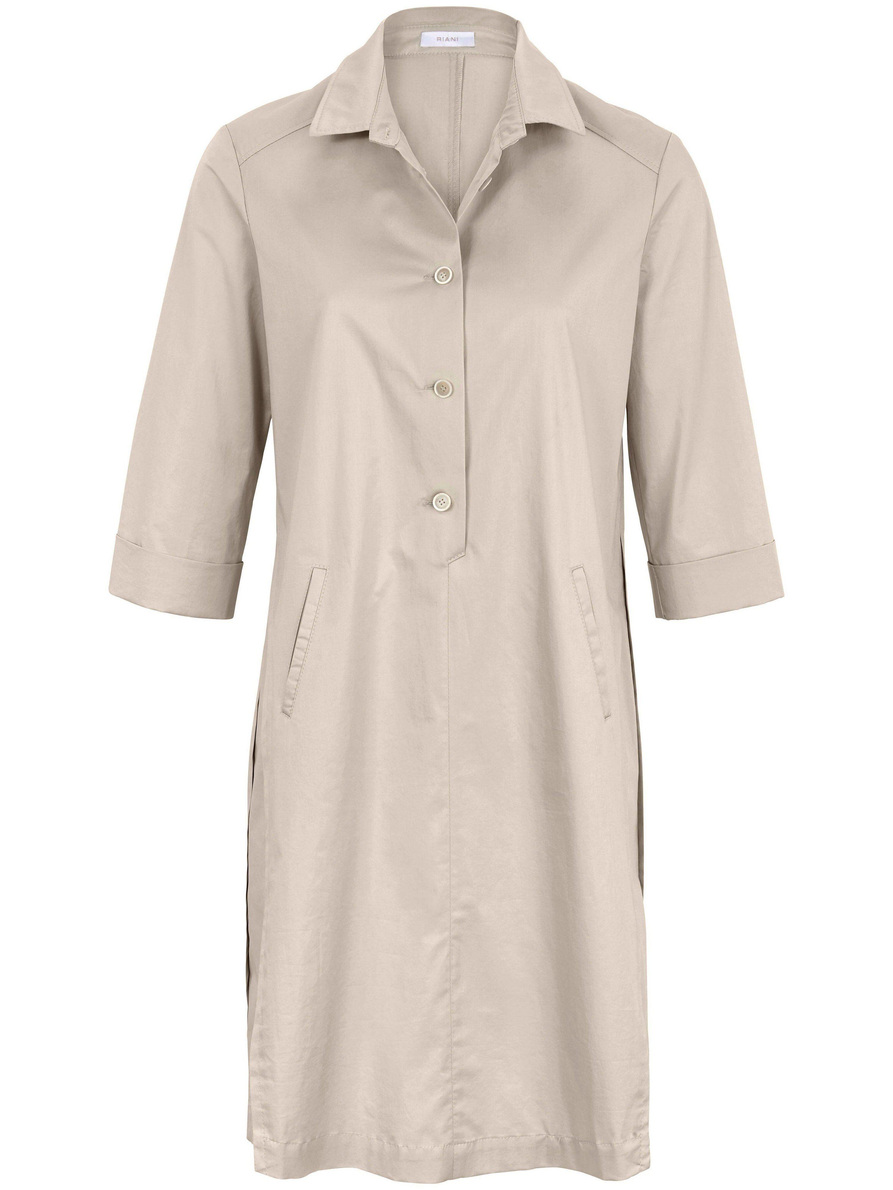 Riani La robe ligne chemisier manches 3/4  Riani beige  - Femme - 42