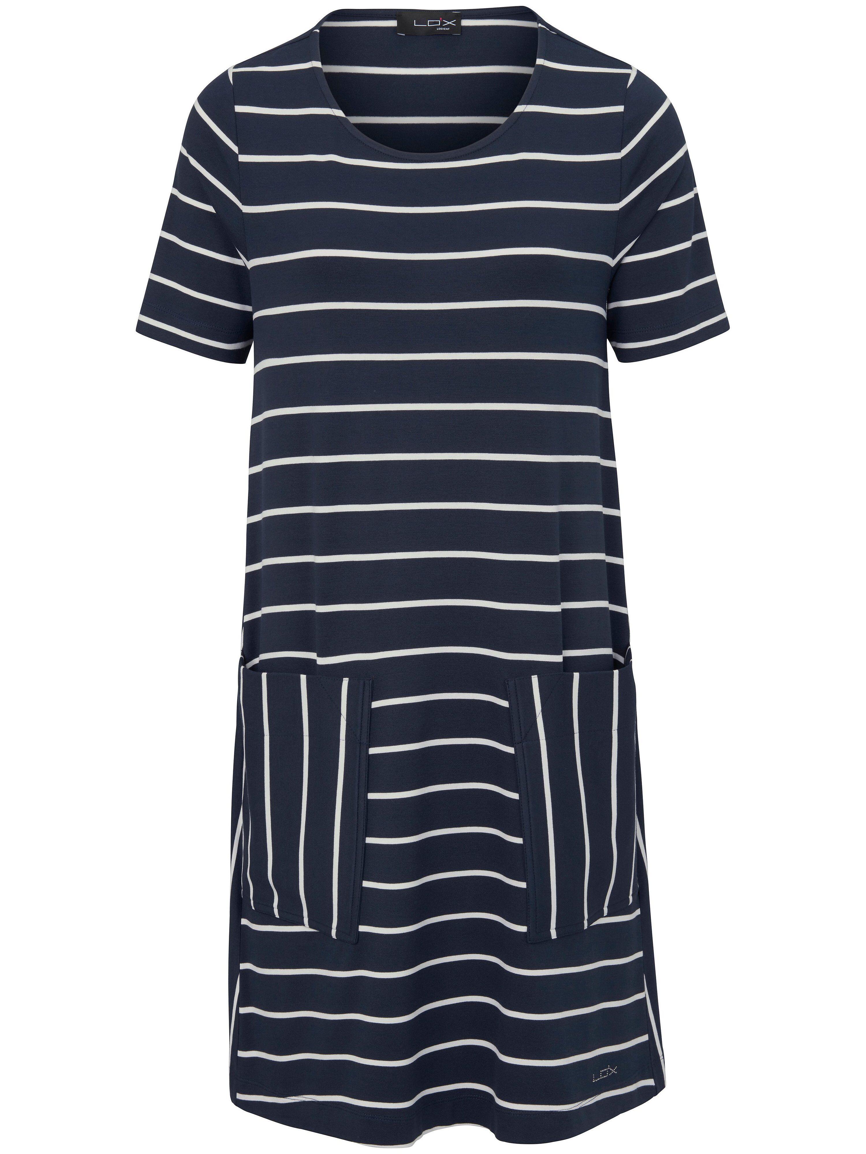 Looxent La robe en jersey, ligne évasée  Looxent bleu  - Femme - 38