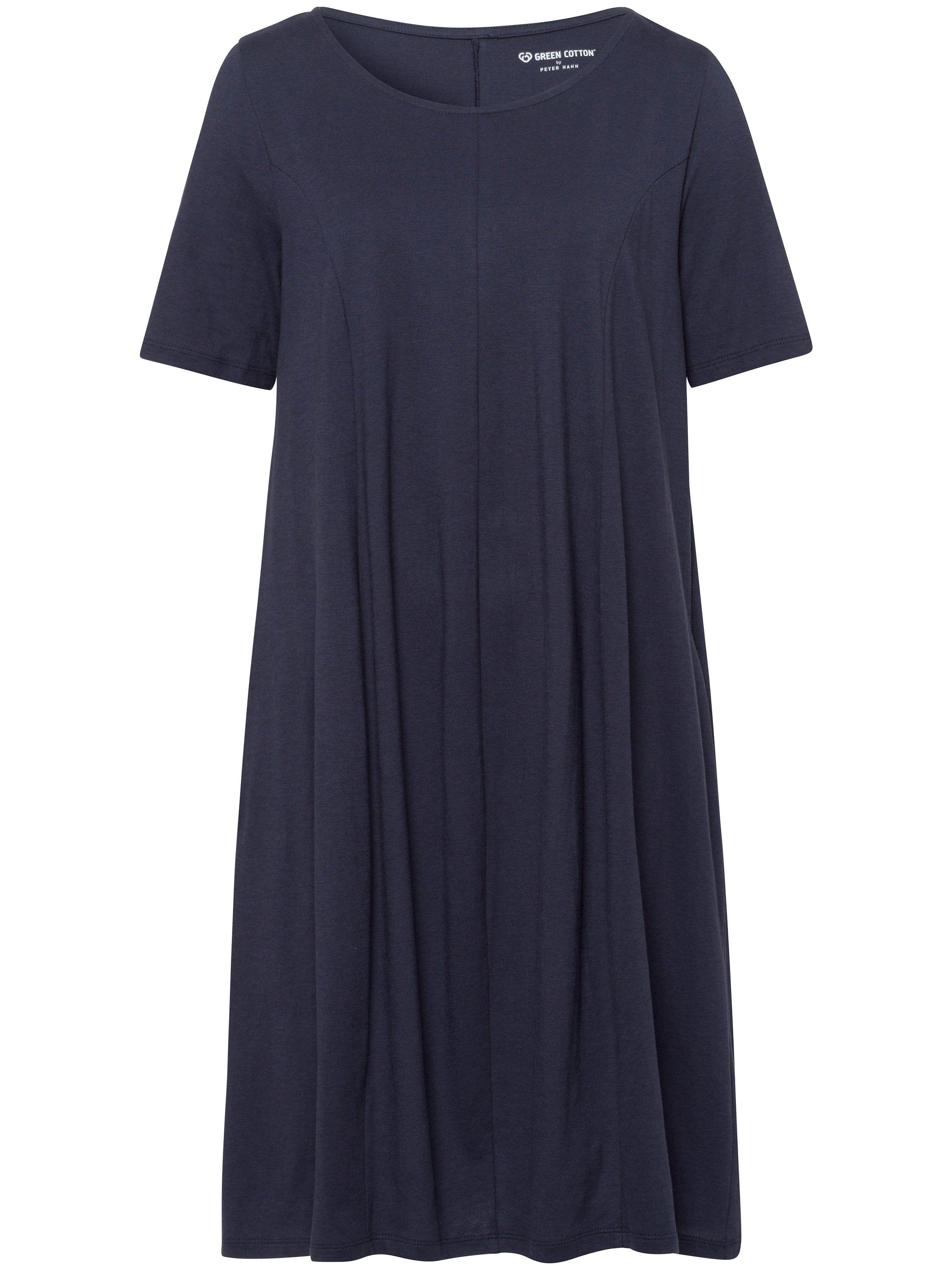 Green Cotton La robe 100% coton ligne en O  Green Cotton bleu  - Femme - 38