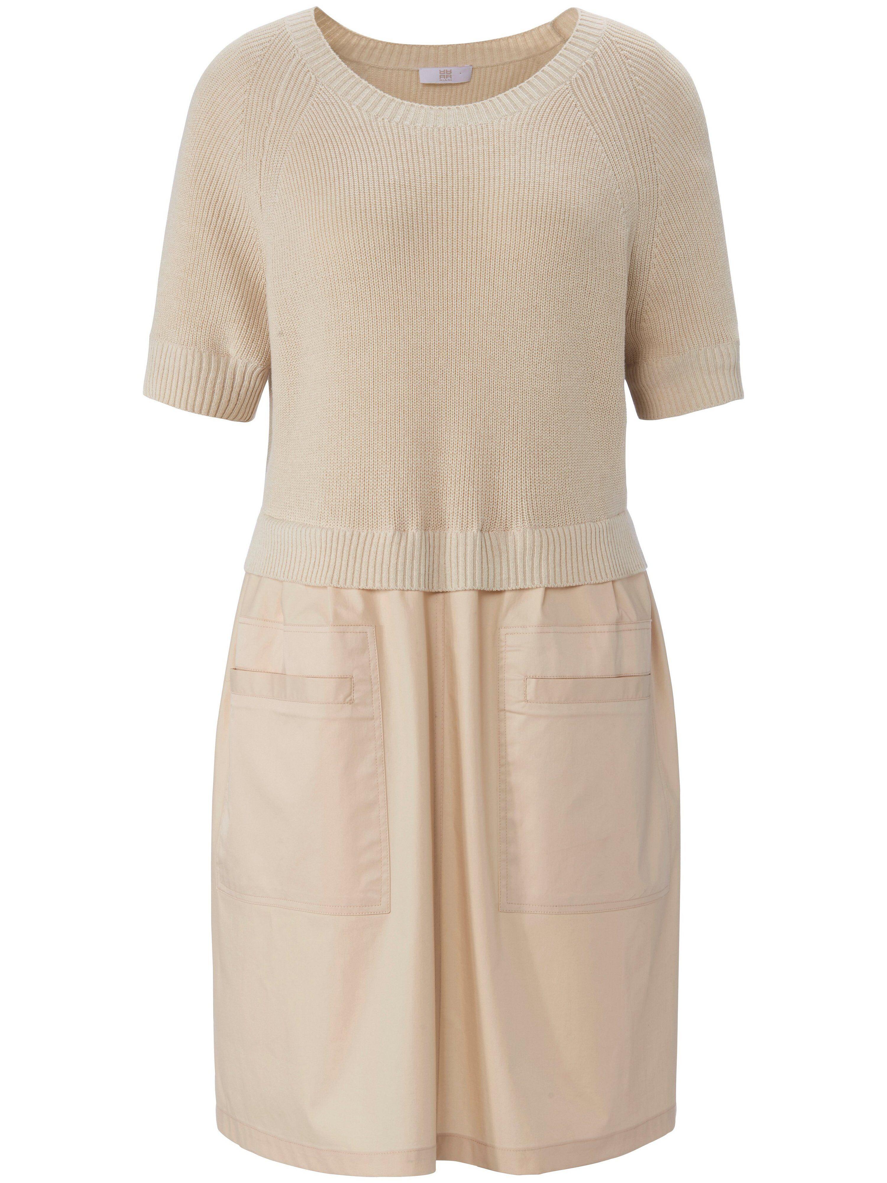 Riani La robe ligne légèrement évasée  Riani beige  - Femme - 44
