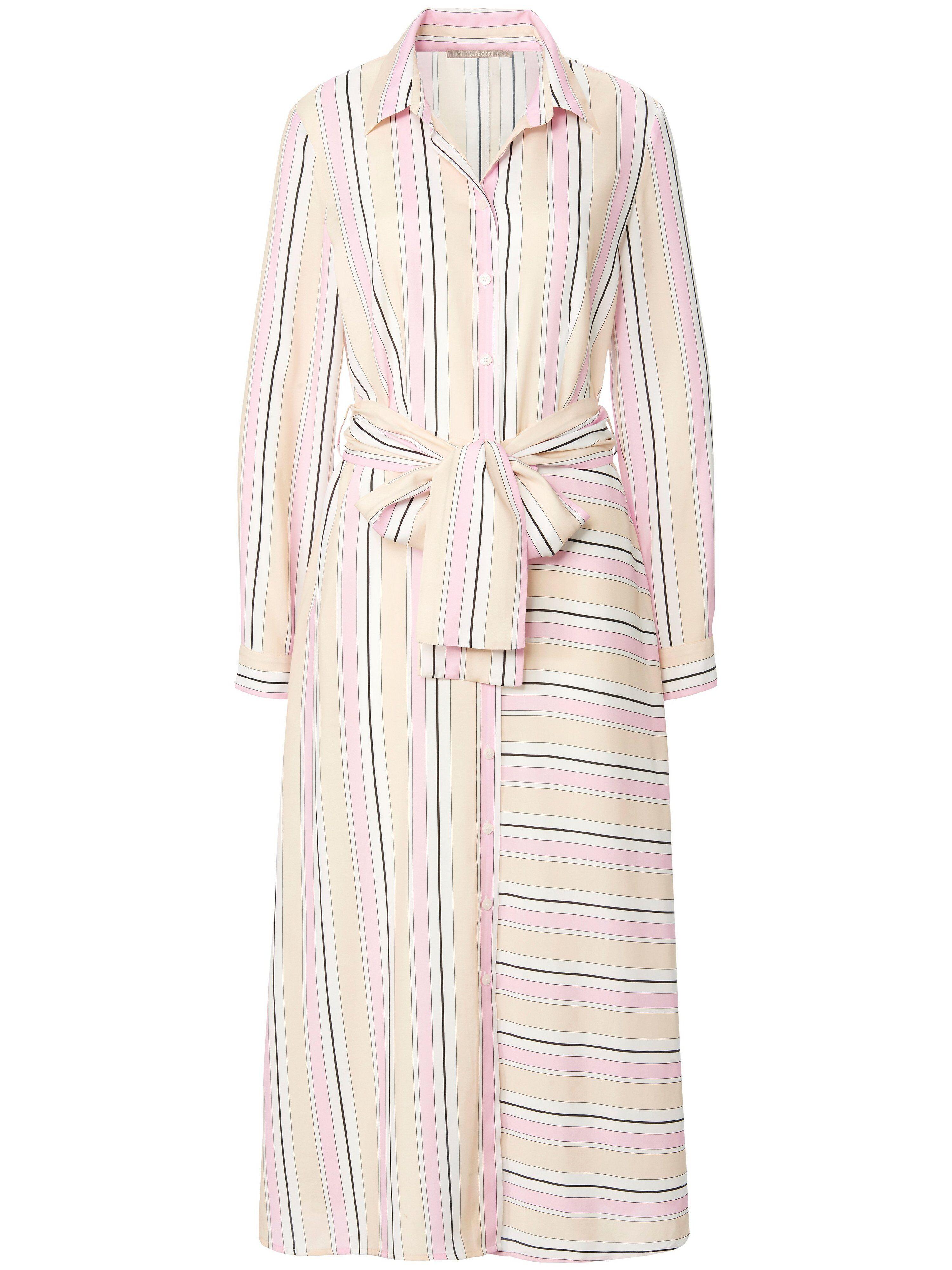 (THE MERCER) N.Y. La robe ligne chemisier  (THE MERCER) N.Y. rose  - Femme - 38