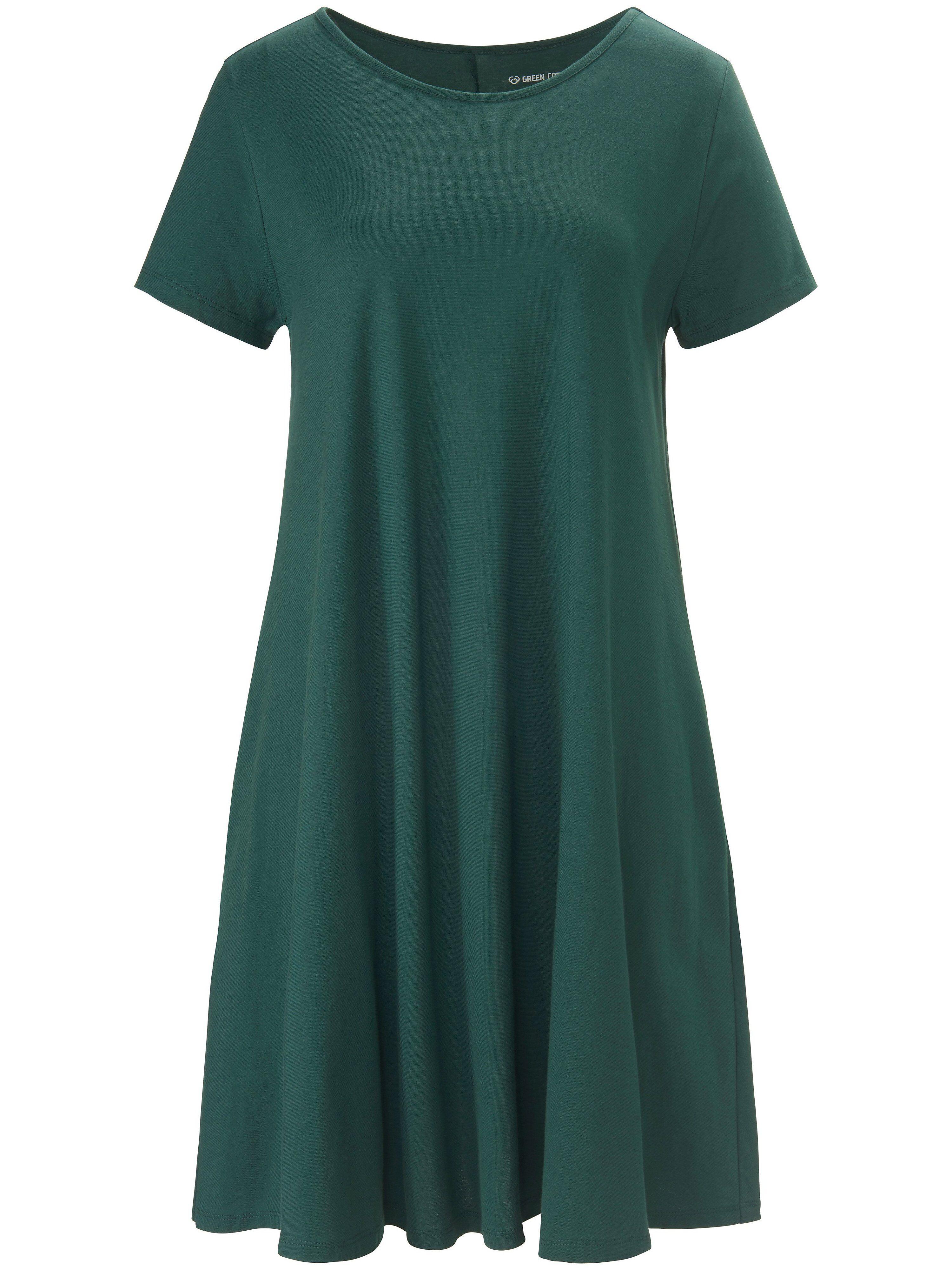 Green Cotton La robe en jersey 100% coton  Green Cotton vert  - Femme - 38