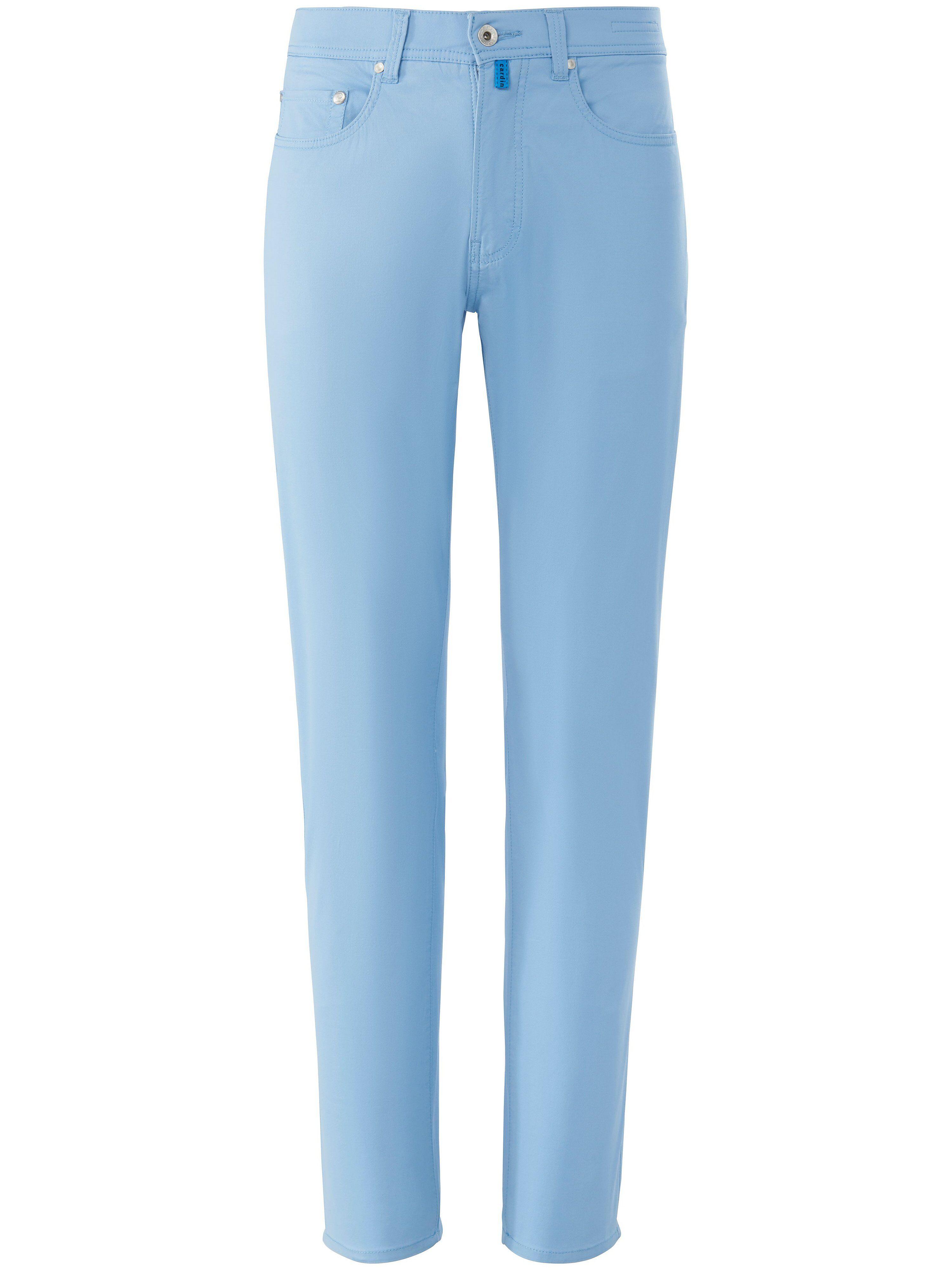 Pierre Cardin Le pantalon Regular Fit modèle Lyon Tapered  Pierre Cardin bleu  - Homme - 25
