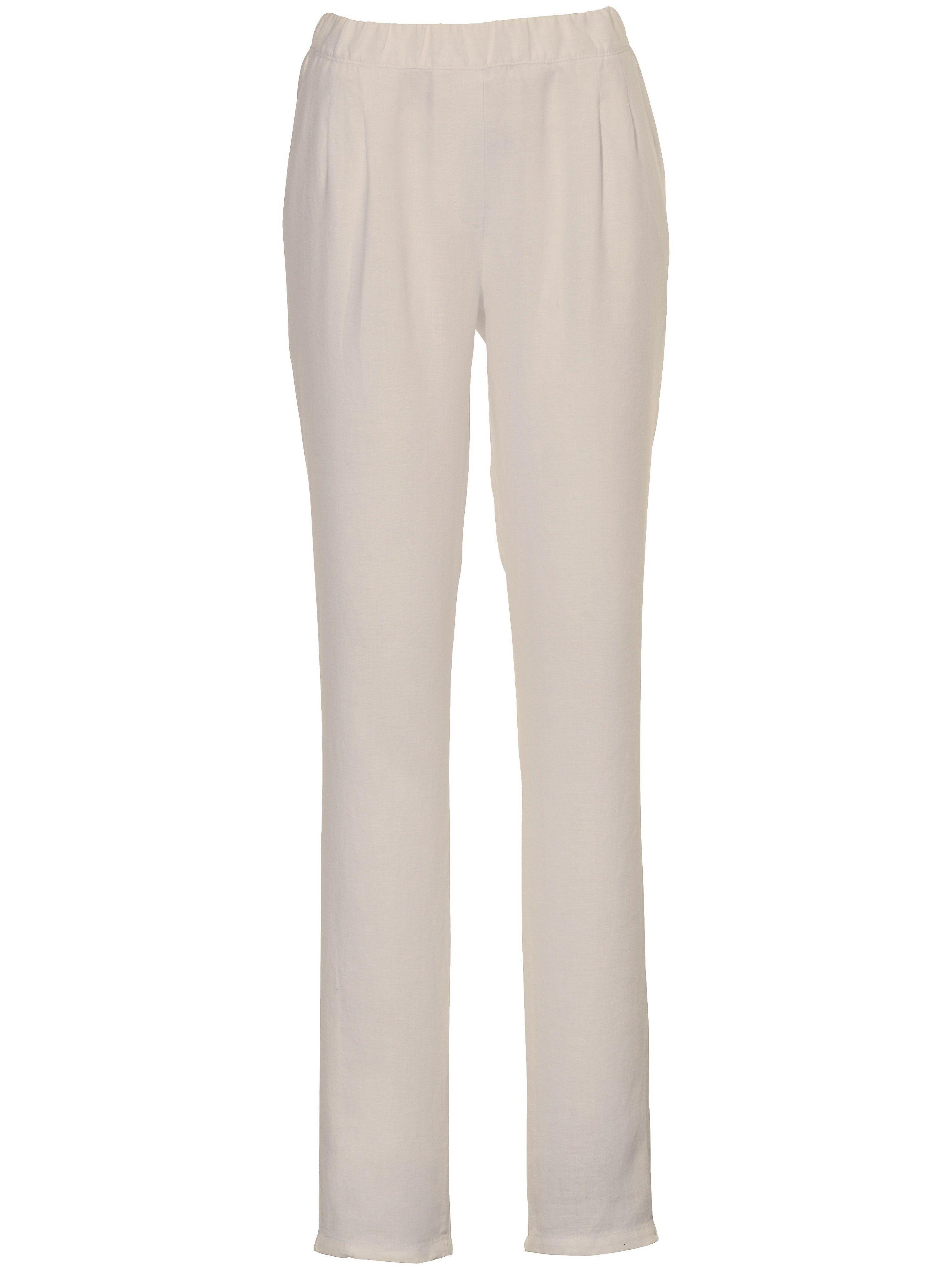 Peter Hahn Le pantalon à pinces  Peter Hahn beige  - Femme - 19