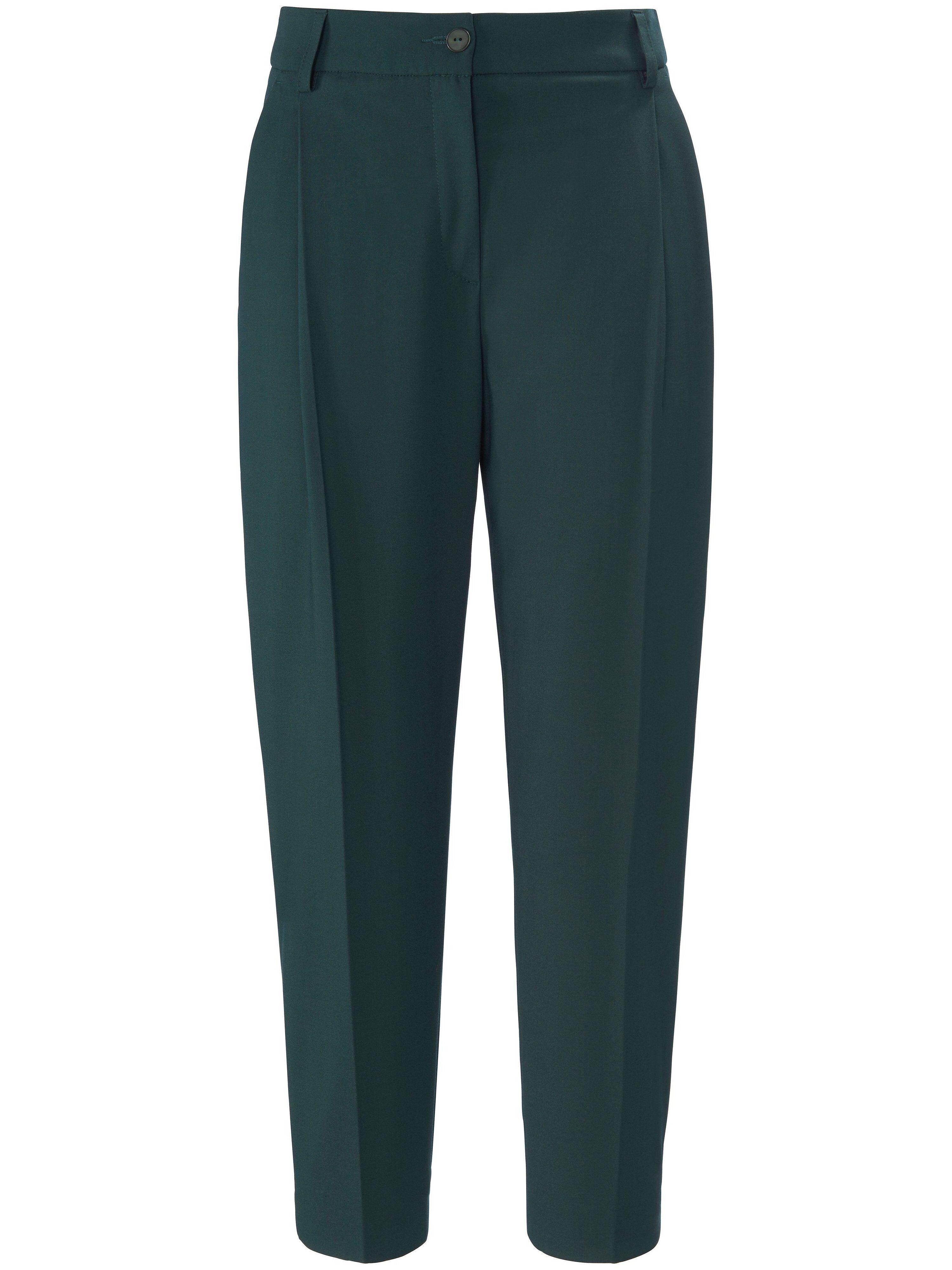 DAY.LIKE Le pantalon à pinces longueur chevilles Wide Fit  DAY.LIKE vert  - Femme - 22