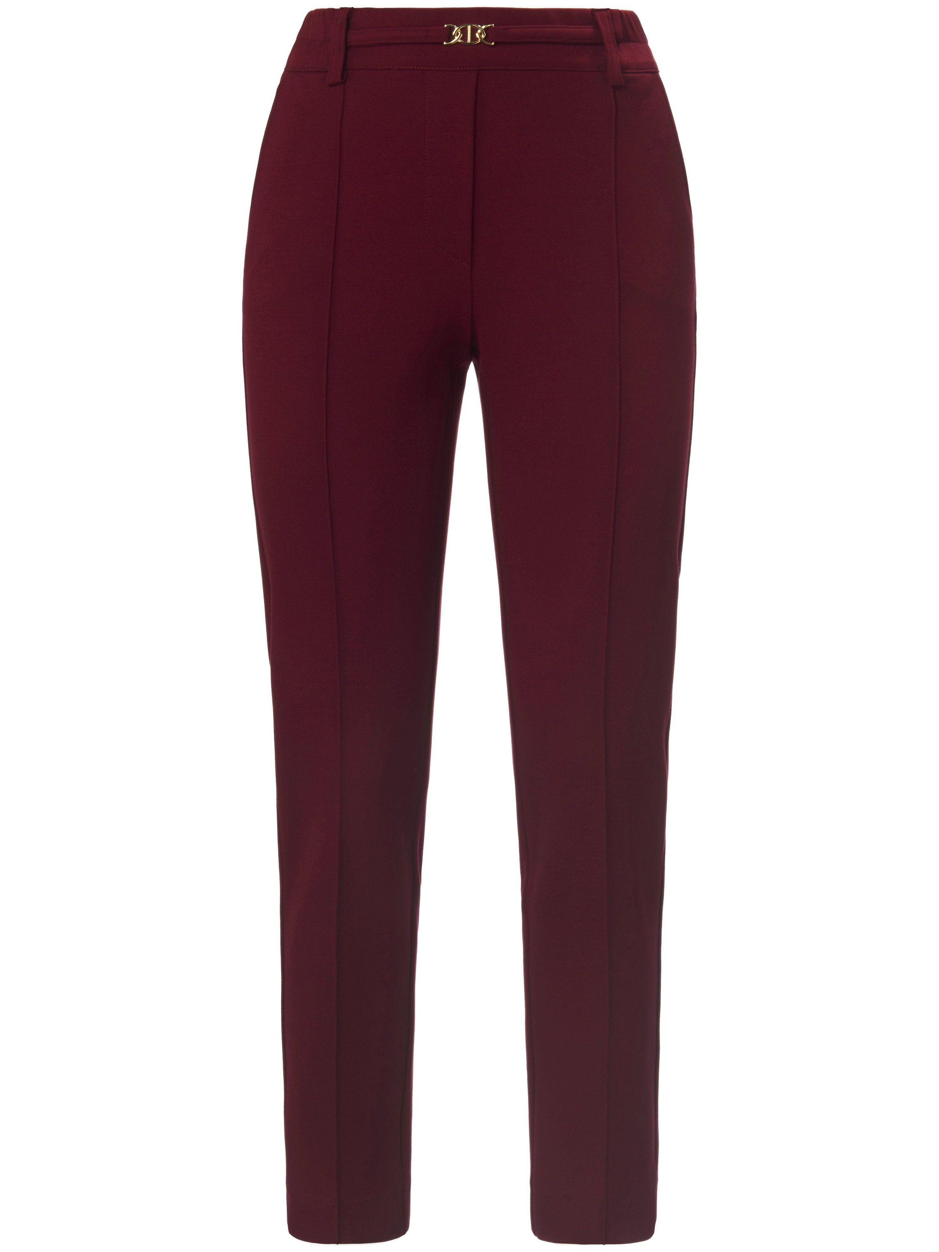 Uta Raasch Le pantalon 7/8 ligne slim  Uta Raasch rouge  - Femme - 20