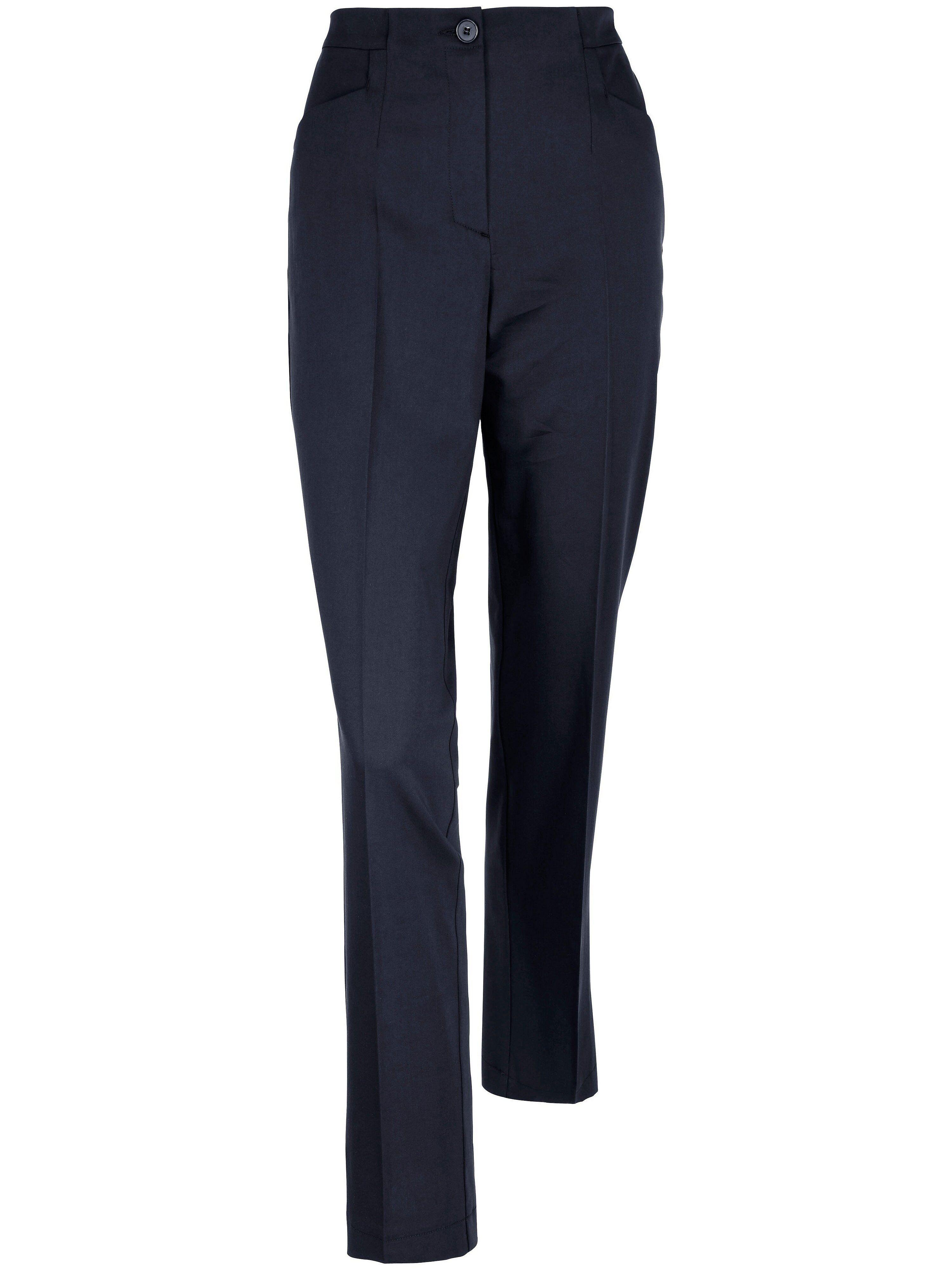 Peter Hahn Le pantalon facile d'entretien  Peter Hahn bleu  - Femme - 38