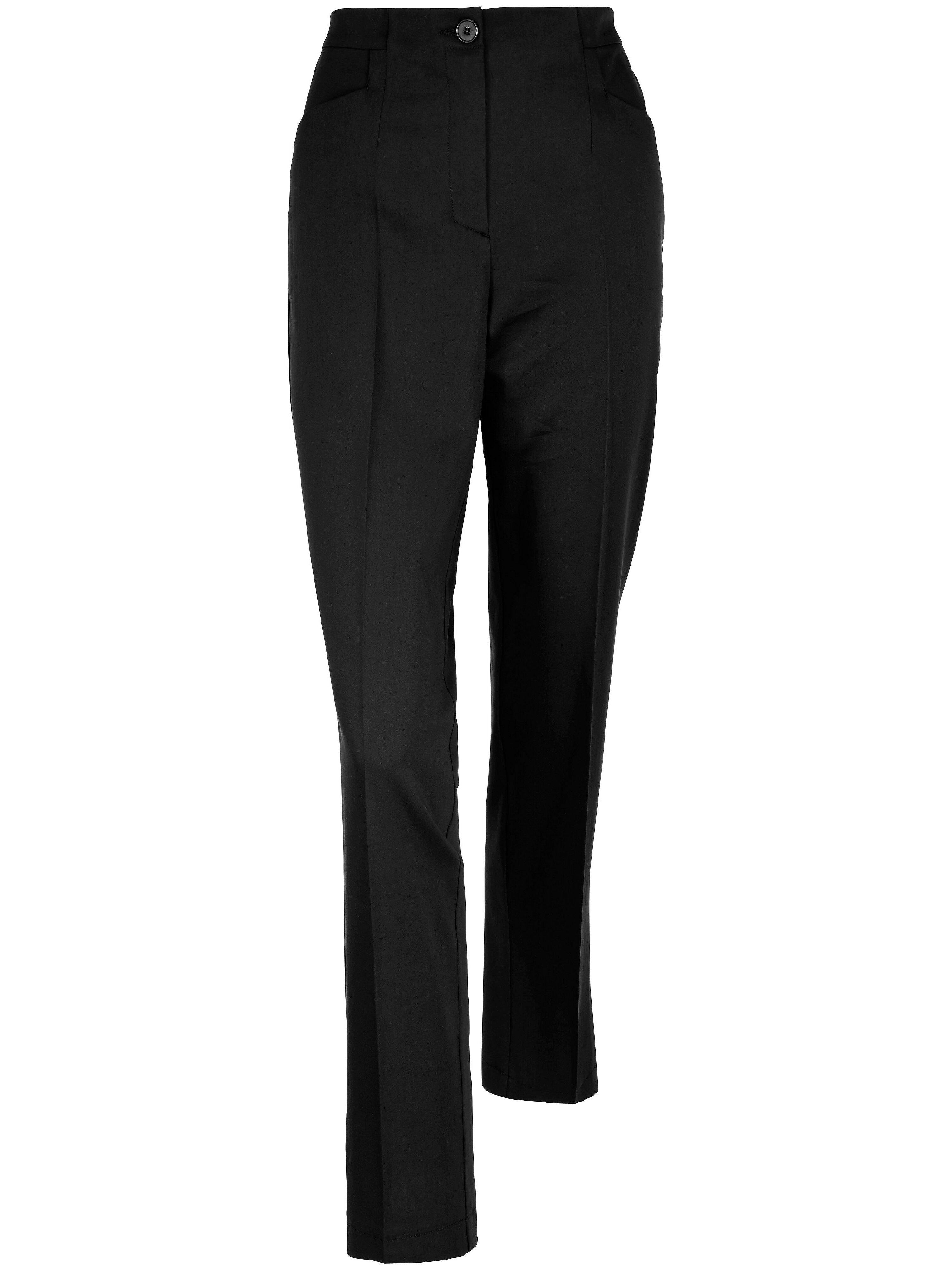Peter Hahn Le pantalon facile d'entretien  Peter Hahn noir  - Femme - 38