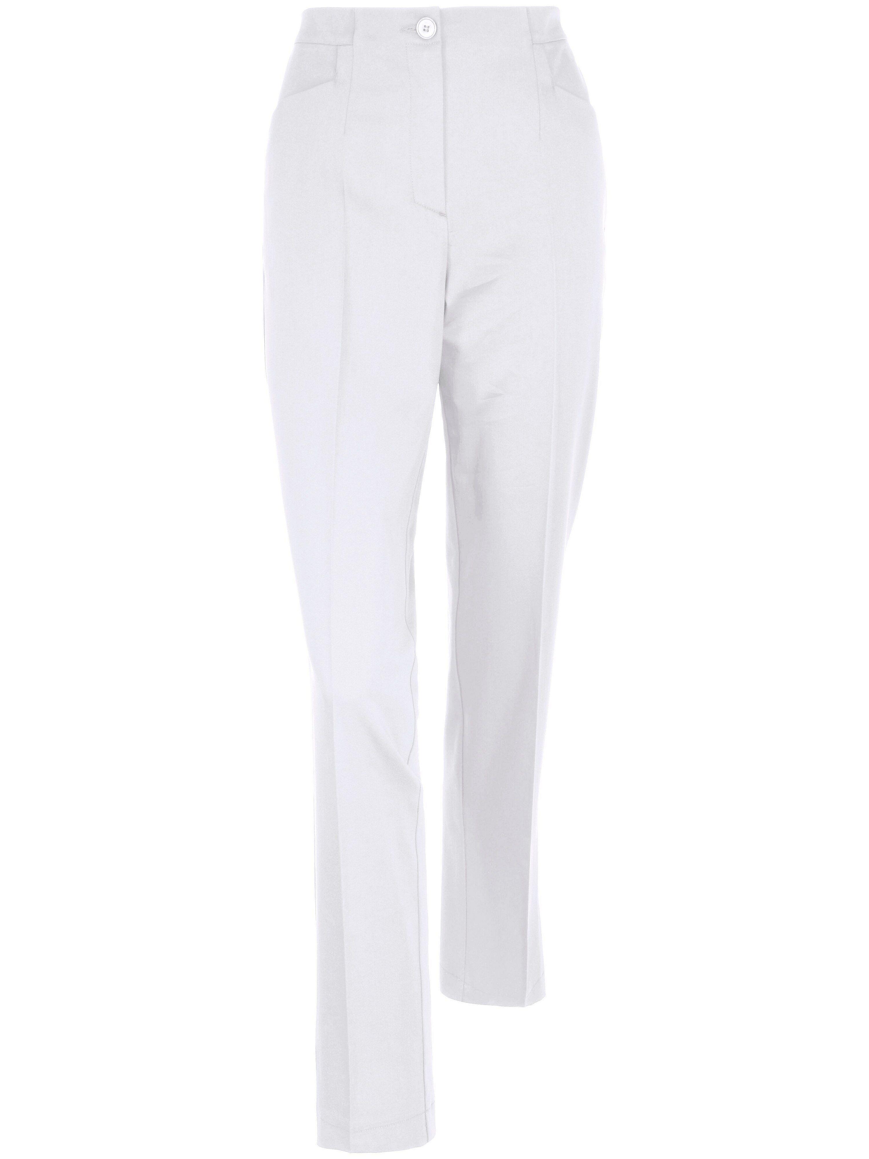 Peter Hahn Le pantalon facile d'entretien  Peter Hahn blanc  - Femme - 19