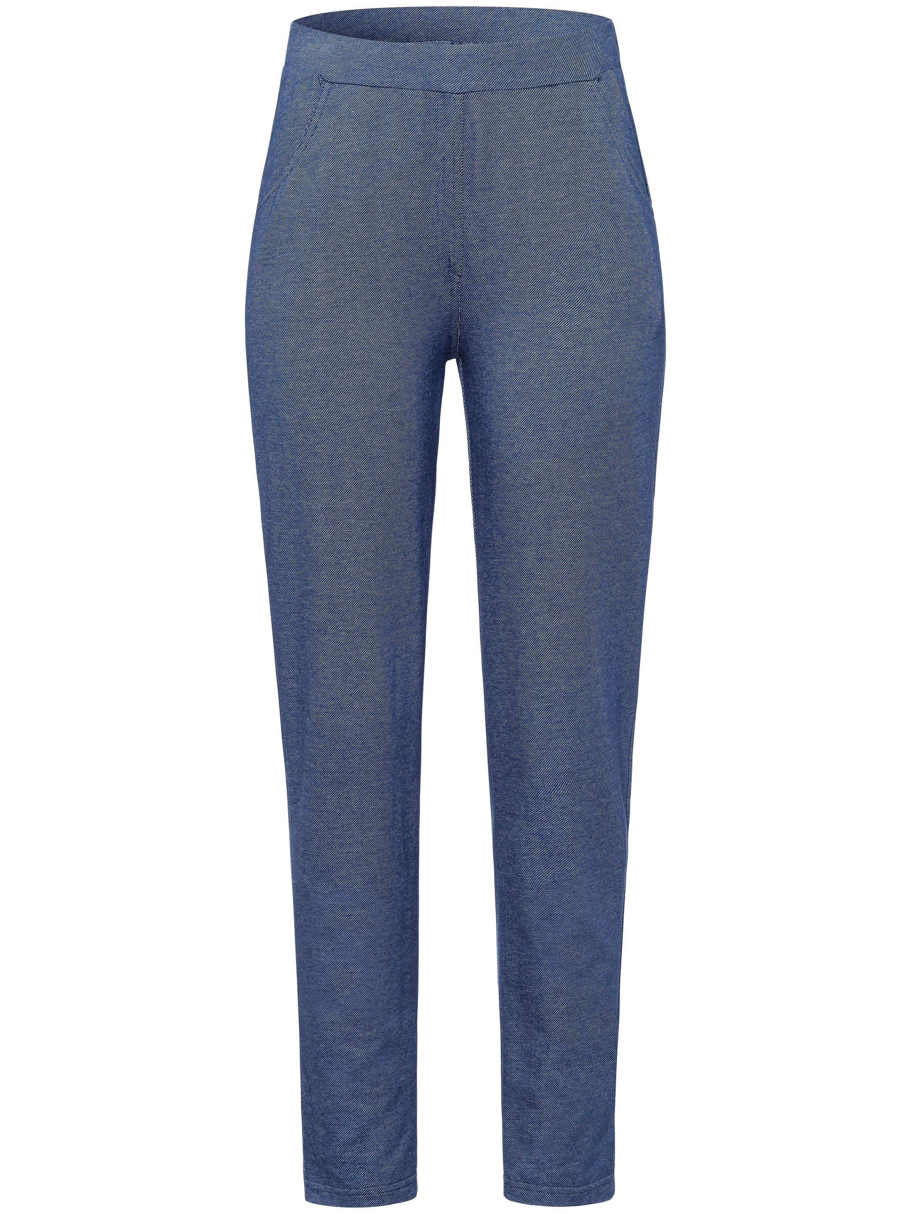 Green Cotton Le pantalon 7/8 aspect denim, ligne près du corps  Green Cotton denim  - Femme - 40