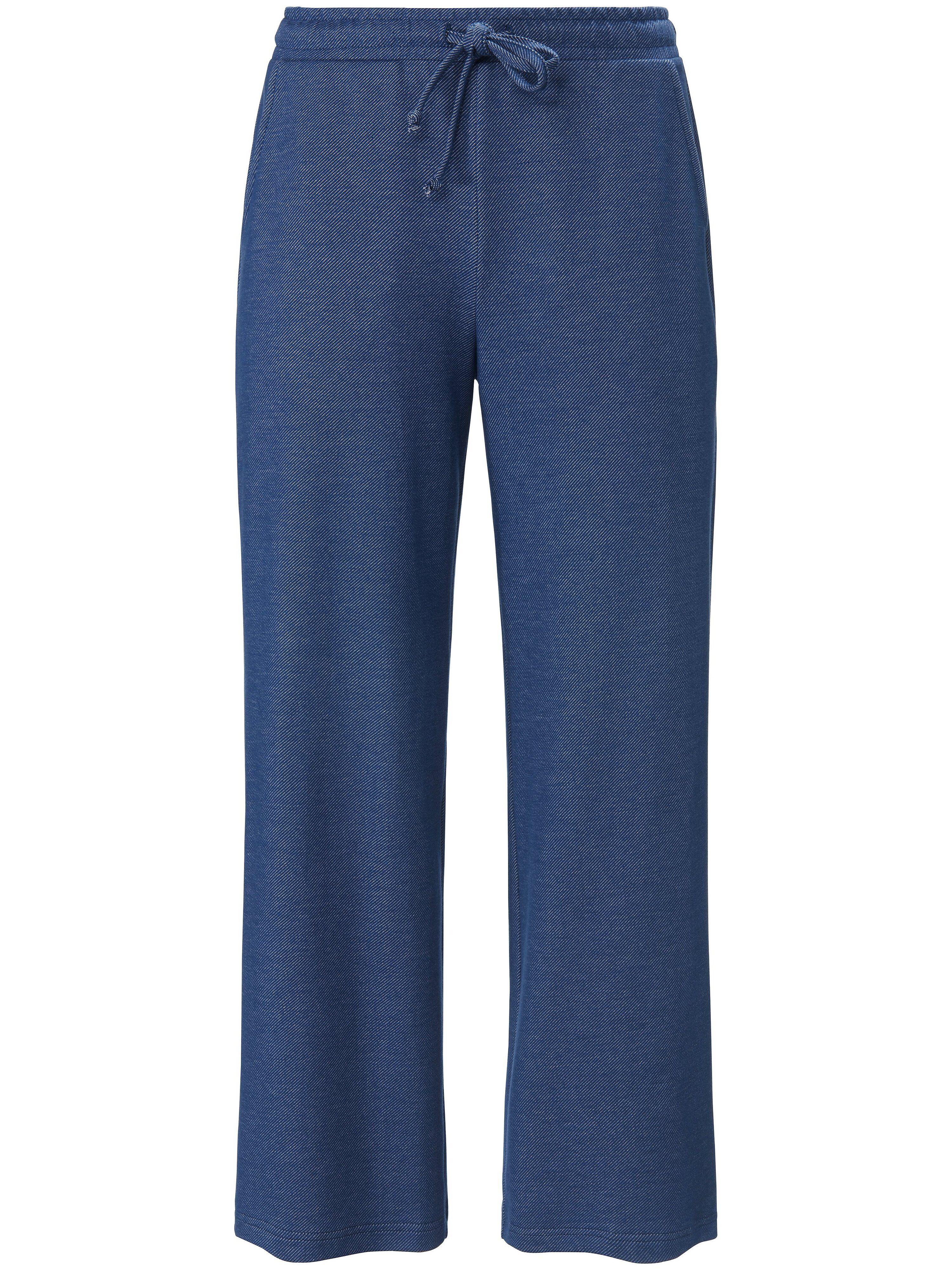 Green Cotton Le pantalon longueur chevilles ligne Marlene  Green Cotton bleu  - Femme - 40