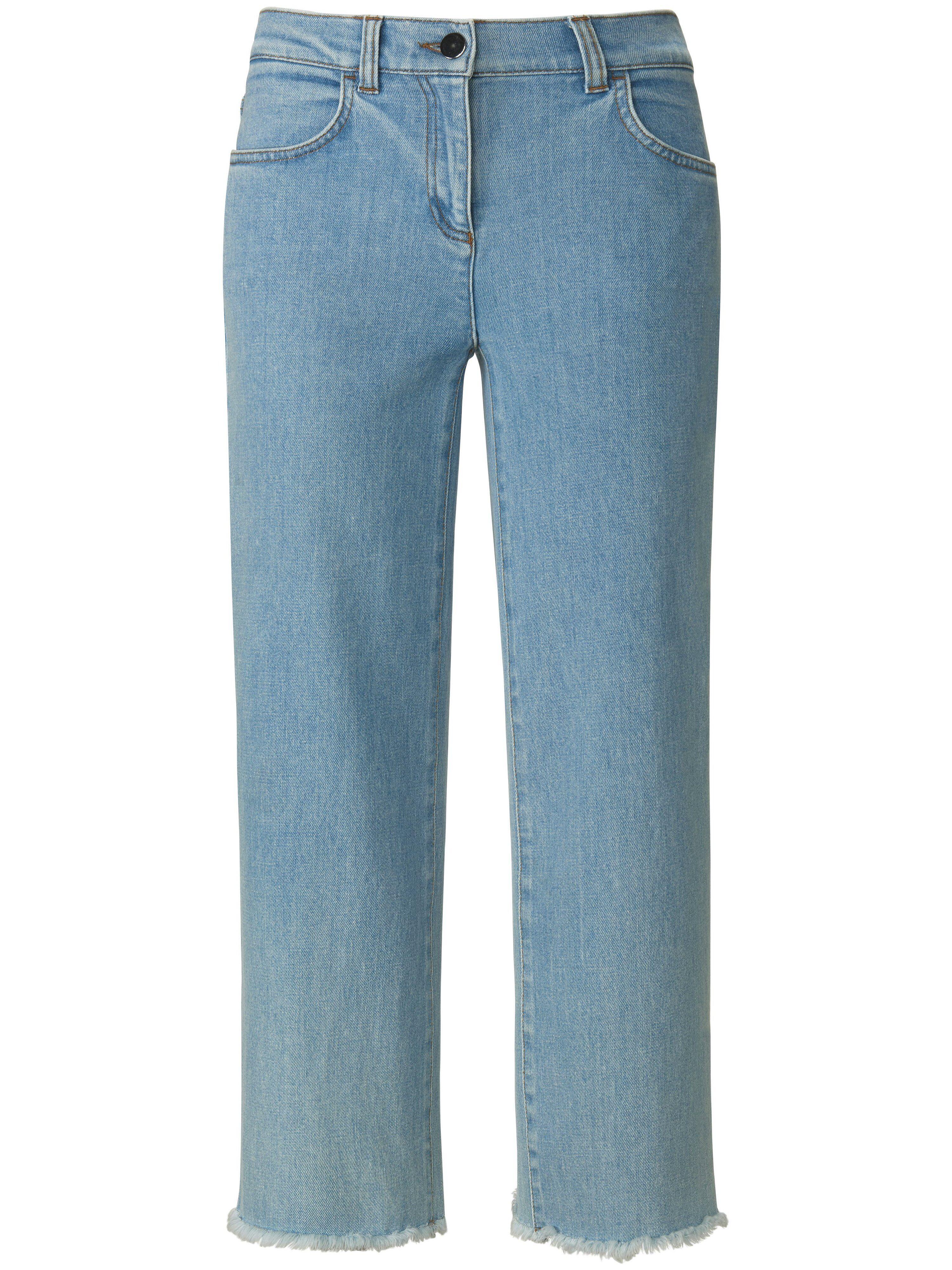 Peter Hahn La jupe-culotte en jean coupe 4 poches  PETER HAHN PURE EDITION denim  - Femme - 38