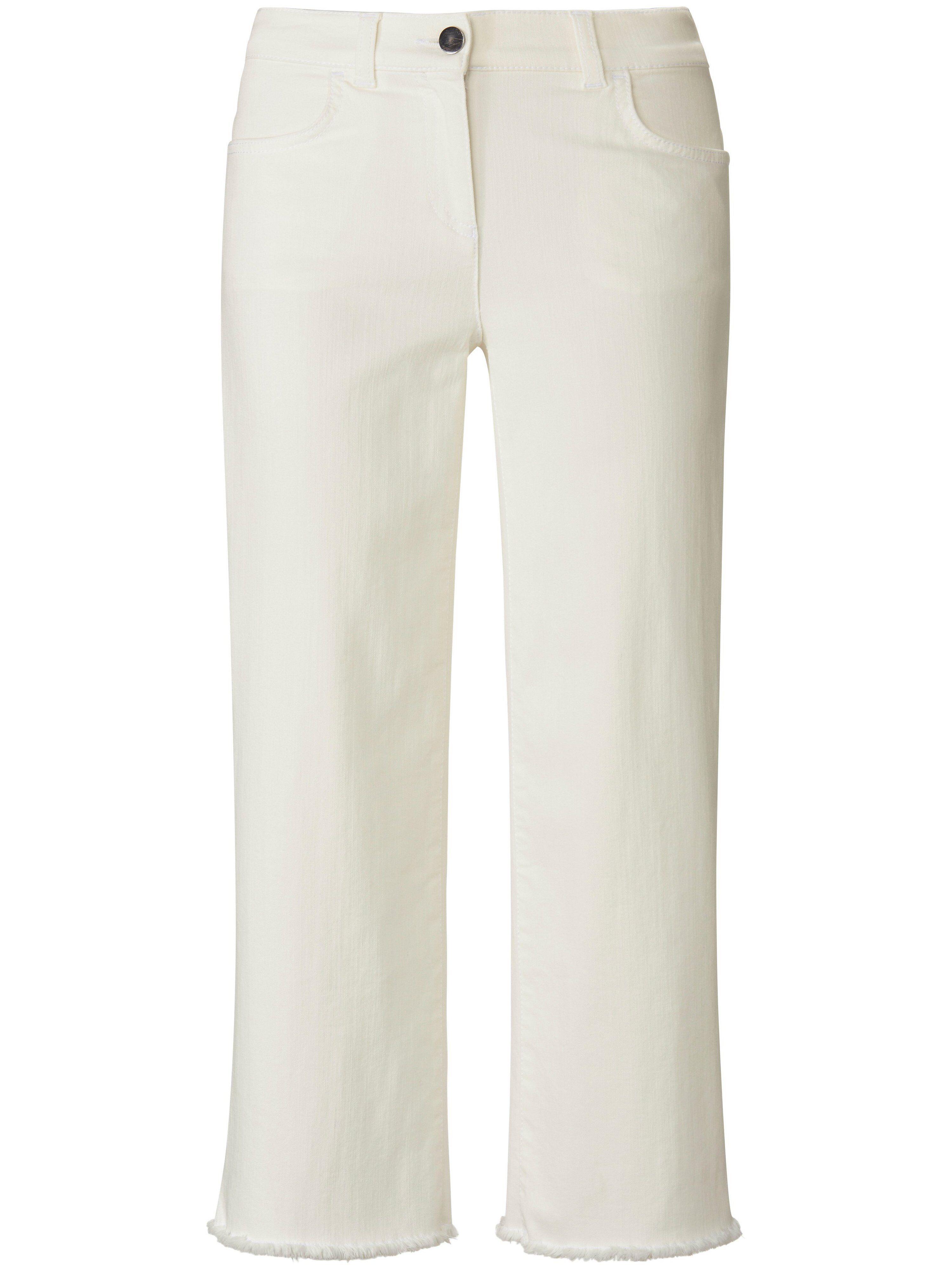 Peter Hahn La jupe-culotte en jean coupe 4 poches  PETER HAHN PURE EDITION blanc  - Femme - 38