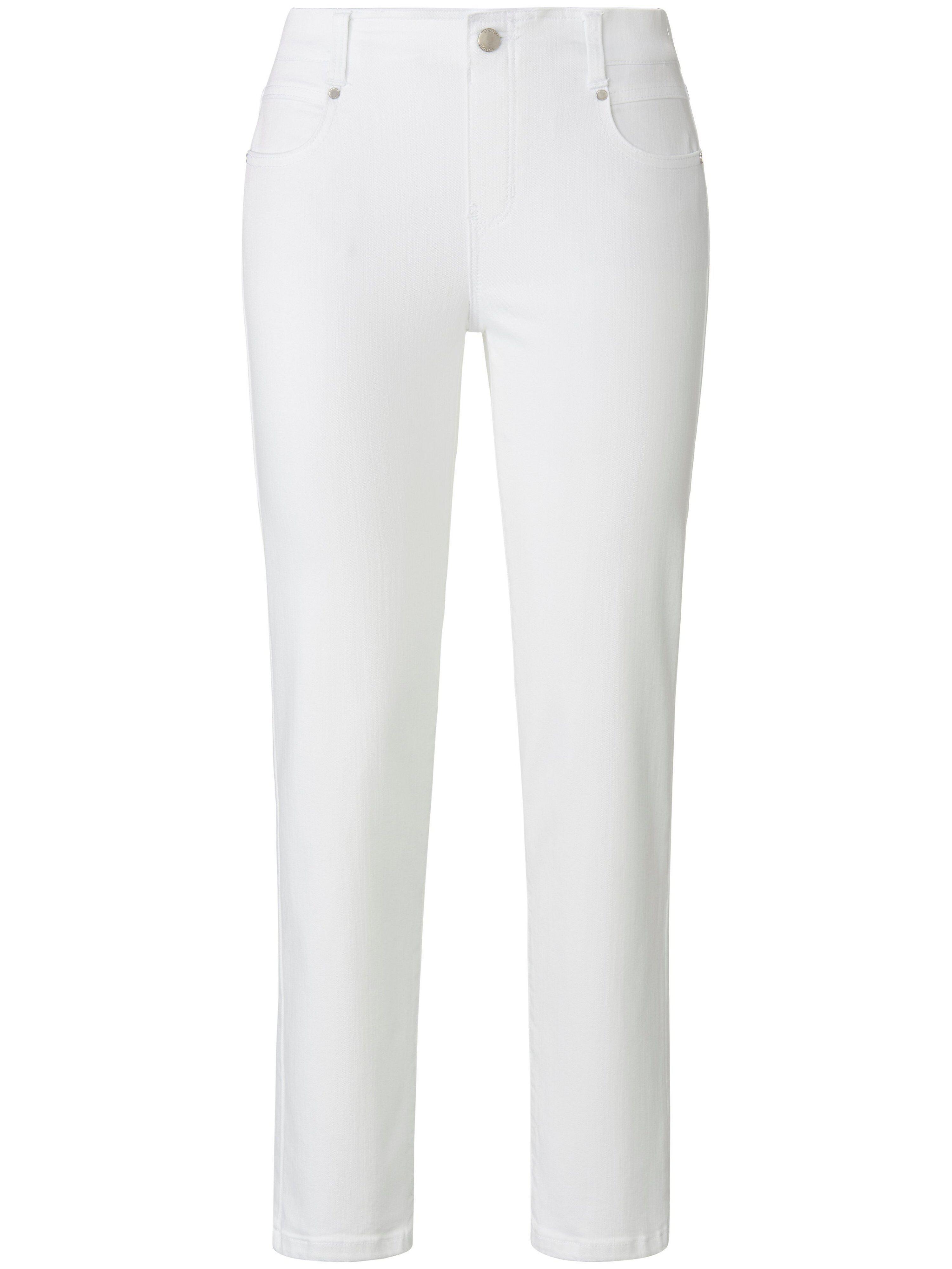 LIVERPOOL Le jean taille élastiquée modèle Gia Glider Slim  LIVERPOOL blanc  - Femme - 40