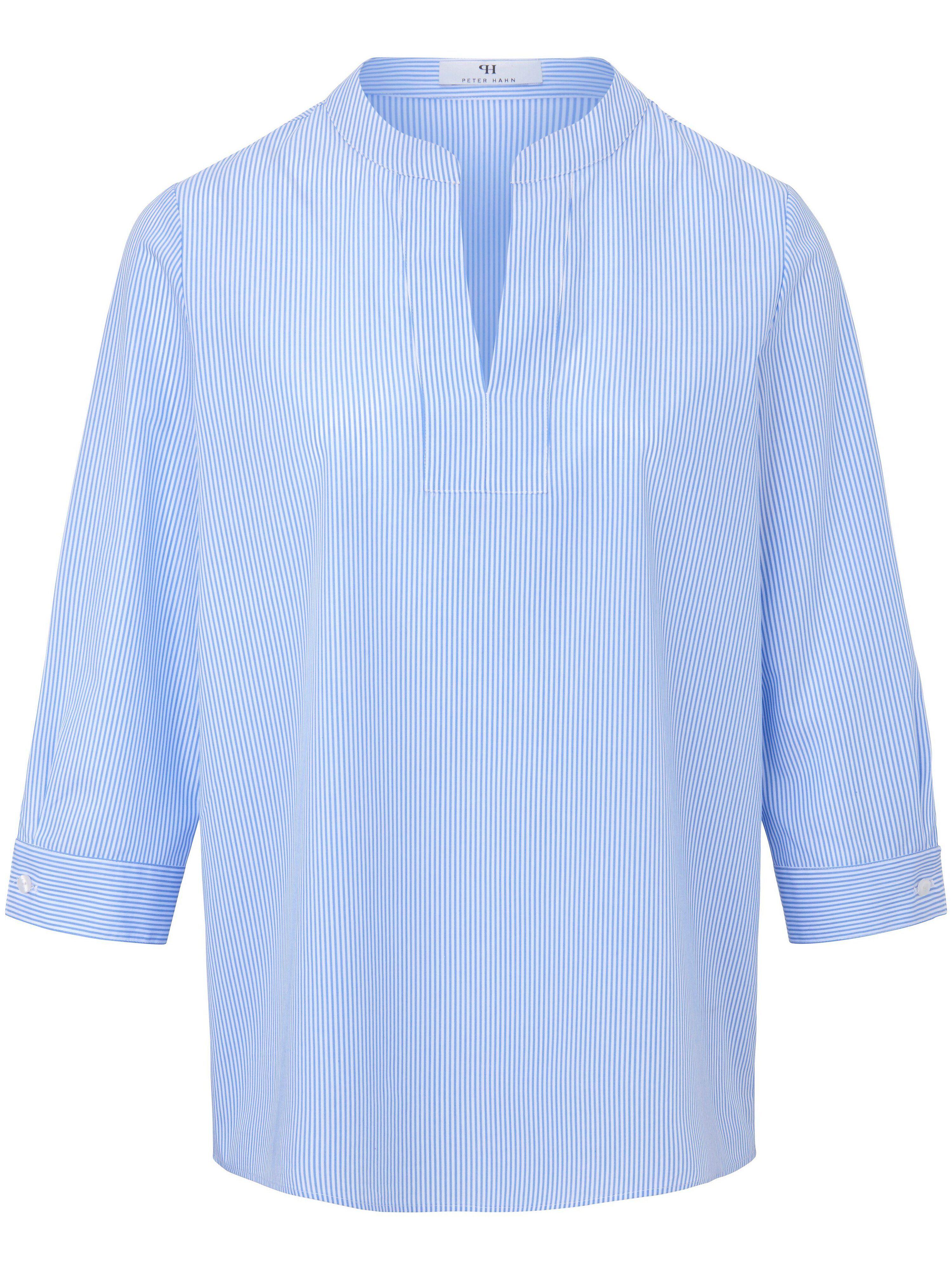 Peter Hahn La blouse ligne en A  Peter Hahn bleu  - Femme - 48