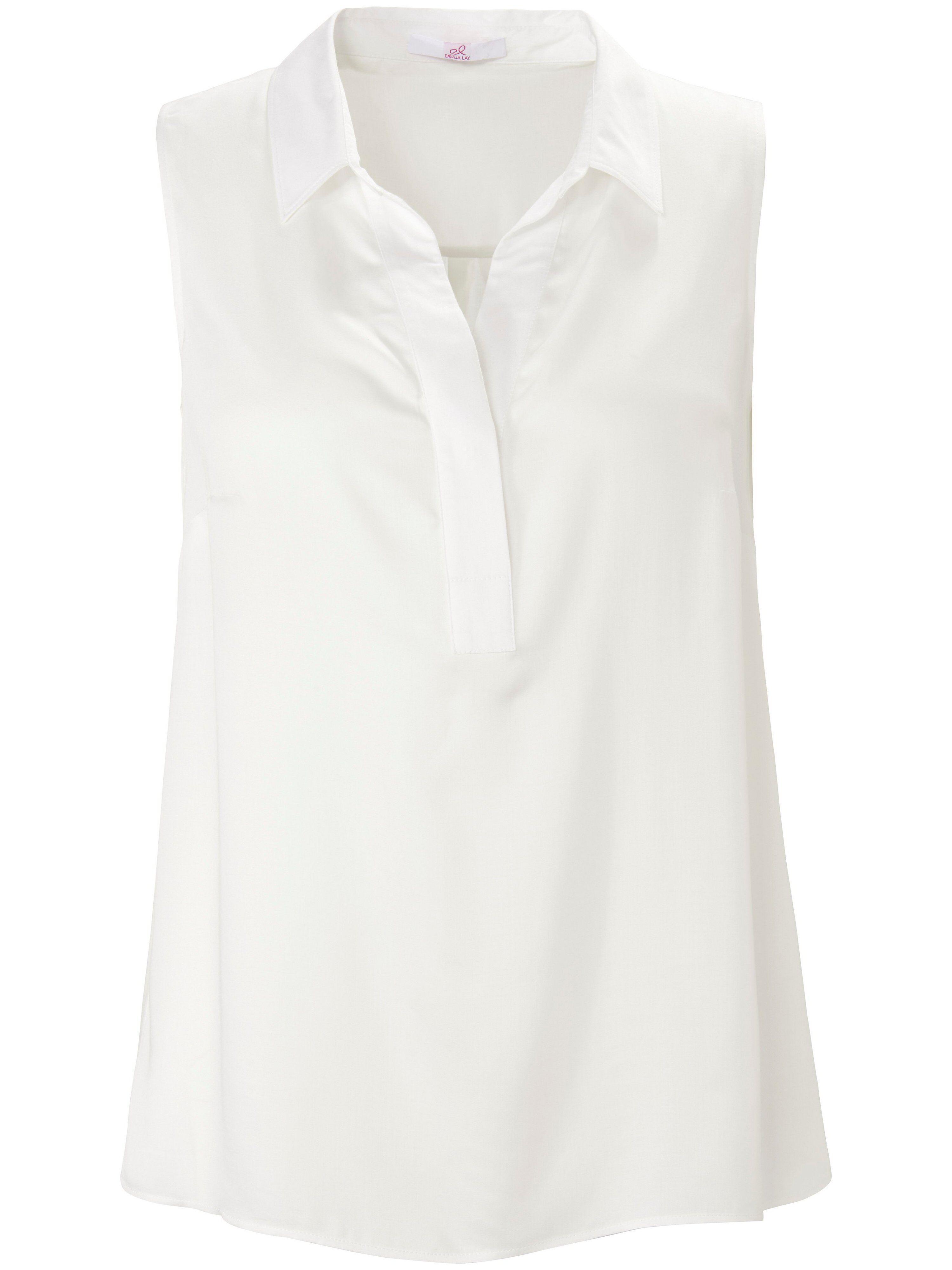 Emilia Lay La blouse ligne décontractée  Emilia Lay blanc  - Femme - 42