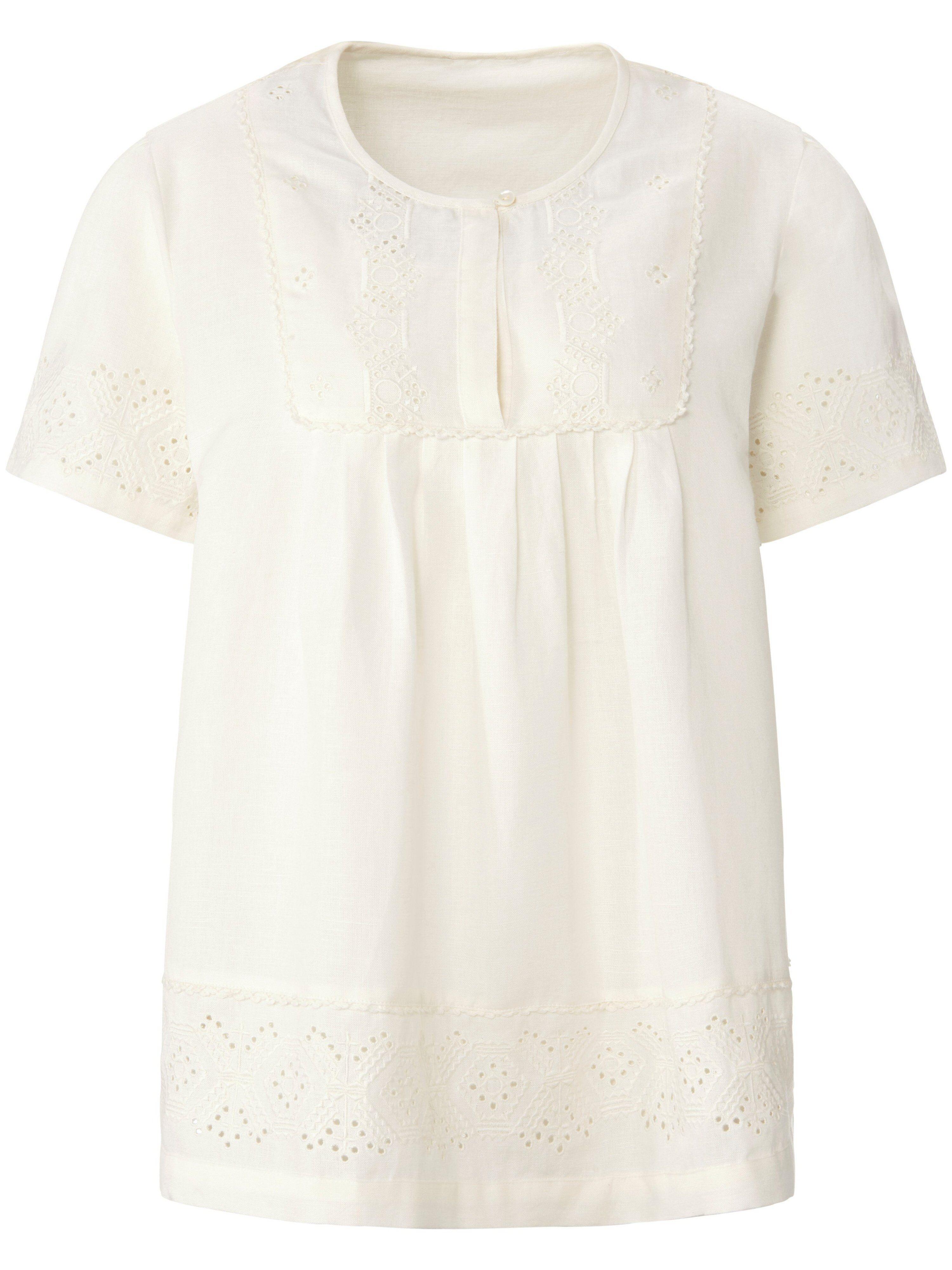 Inkadoro La blouse avec plastron fermé par petits boutons  Inkadoro blanc  - Femme - 38