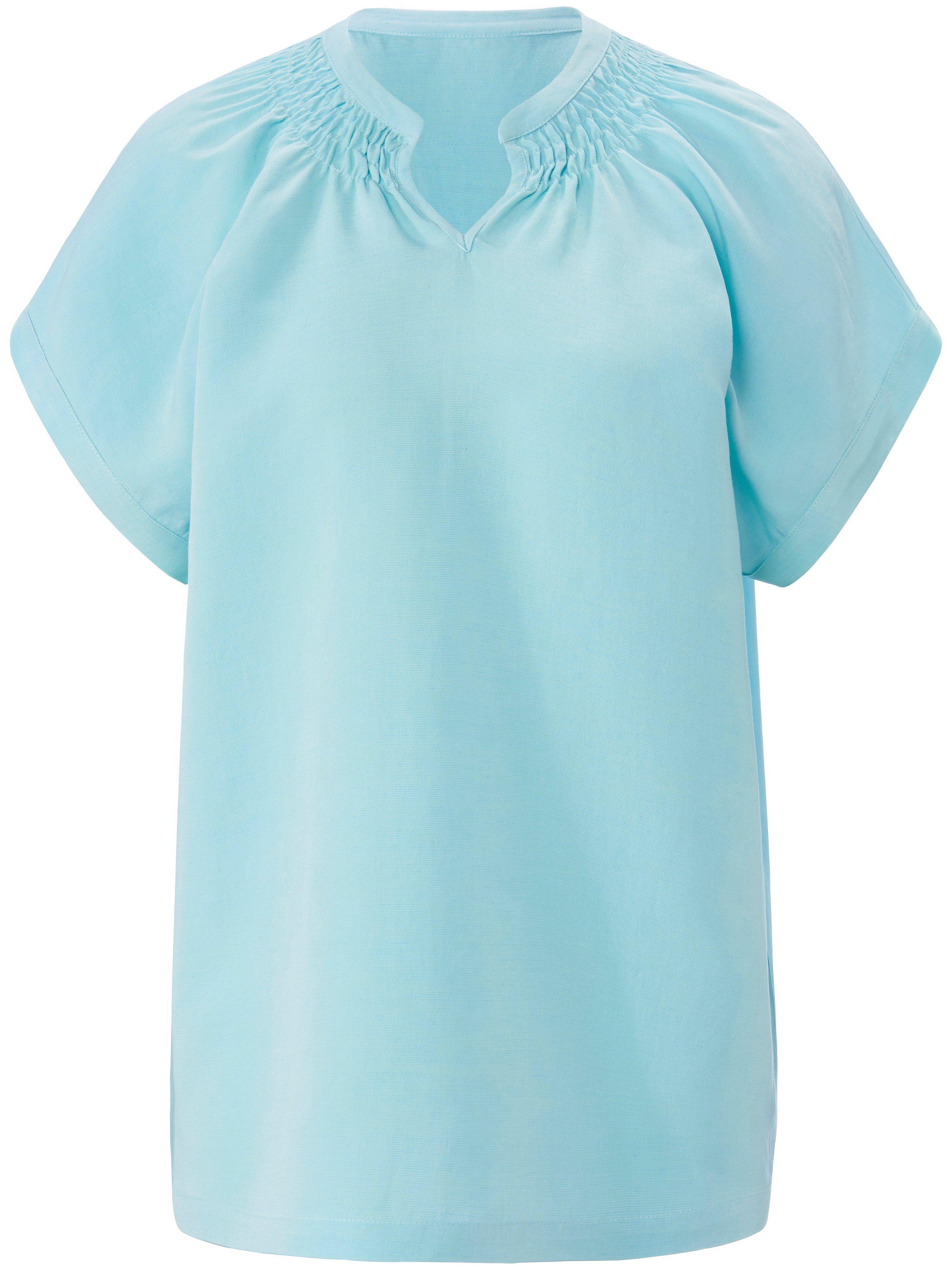MYBC La blouse ligne à enfiler  MYBC bleu  - Femme - 38
