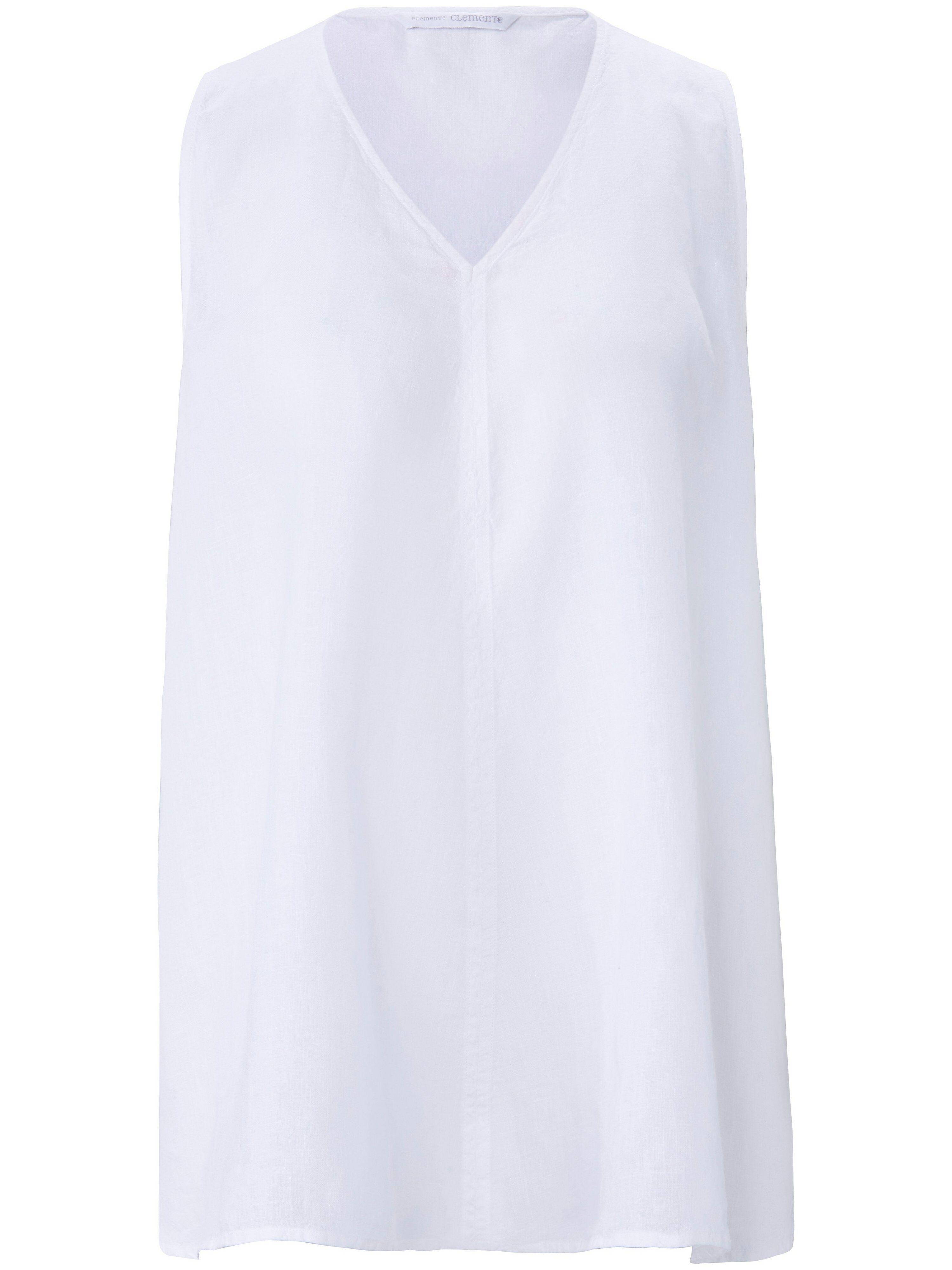 elemente clemente Le top 100% lin  elemente clemente blanc  - Femme - 38