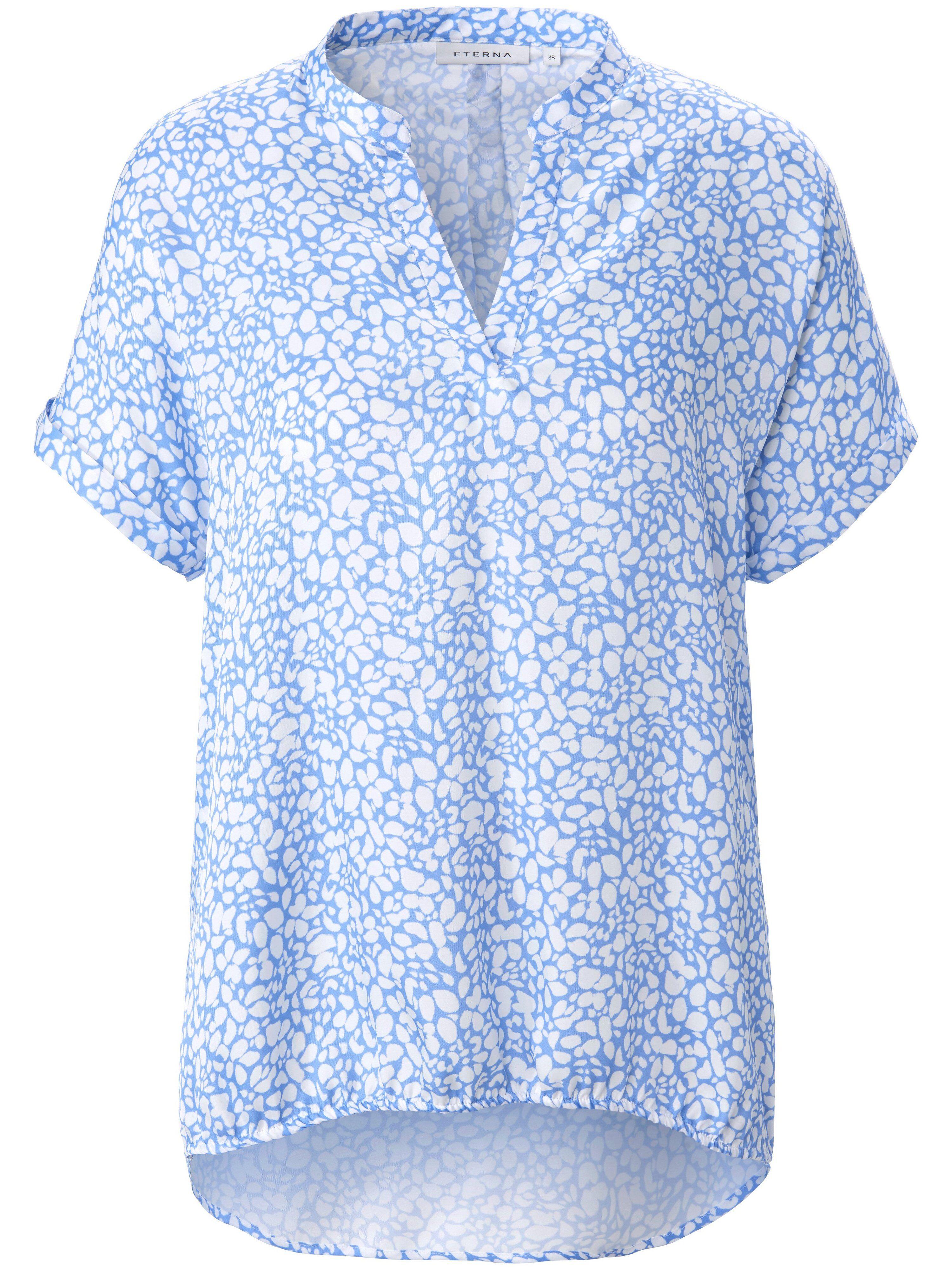 Eterna Le top 100% soie  Eterna bleu  - Femme - 38
