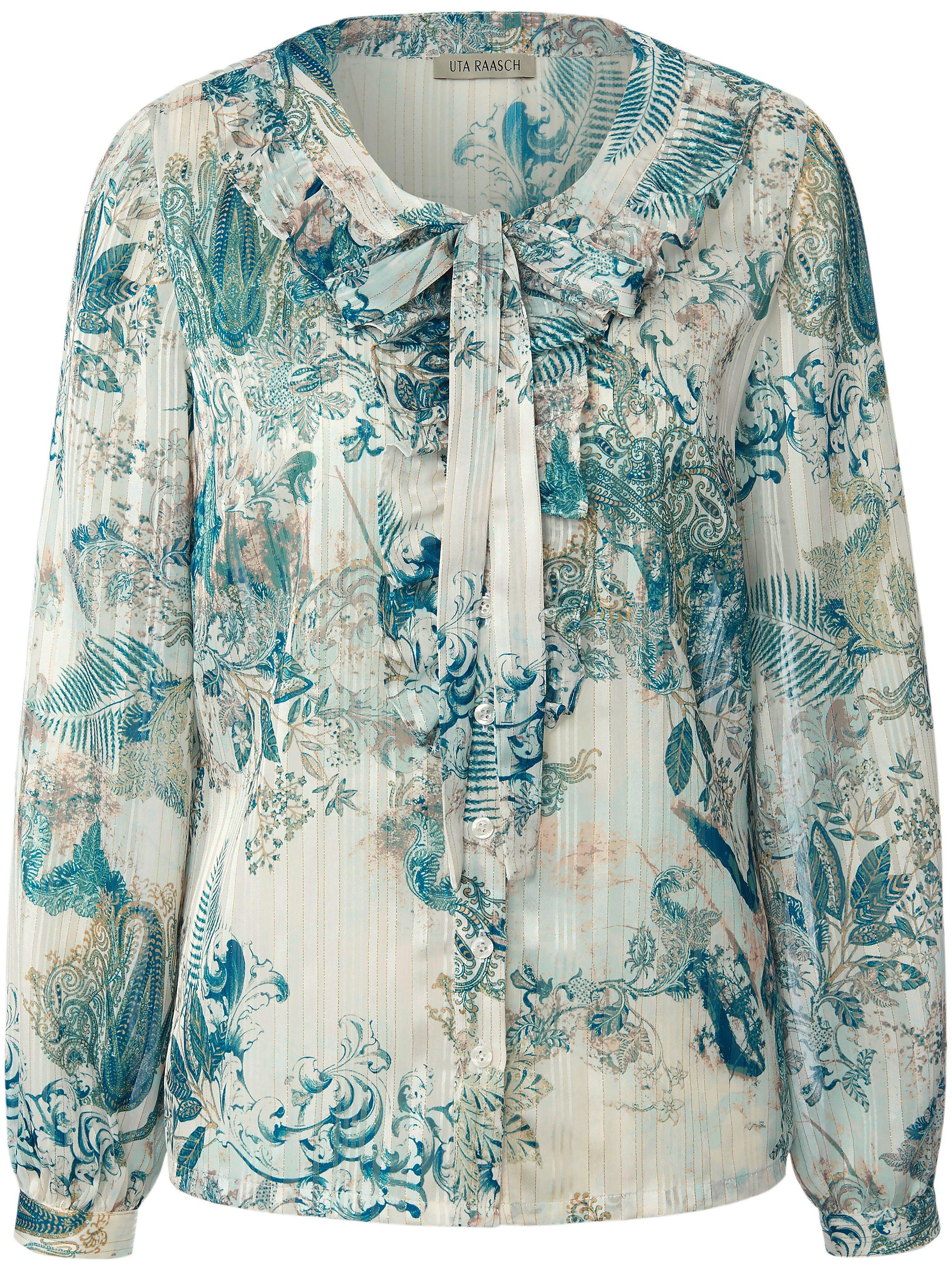 Uta Raasch La blouse manches longues  Uta Raasch multicolore  - Femme - 38